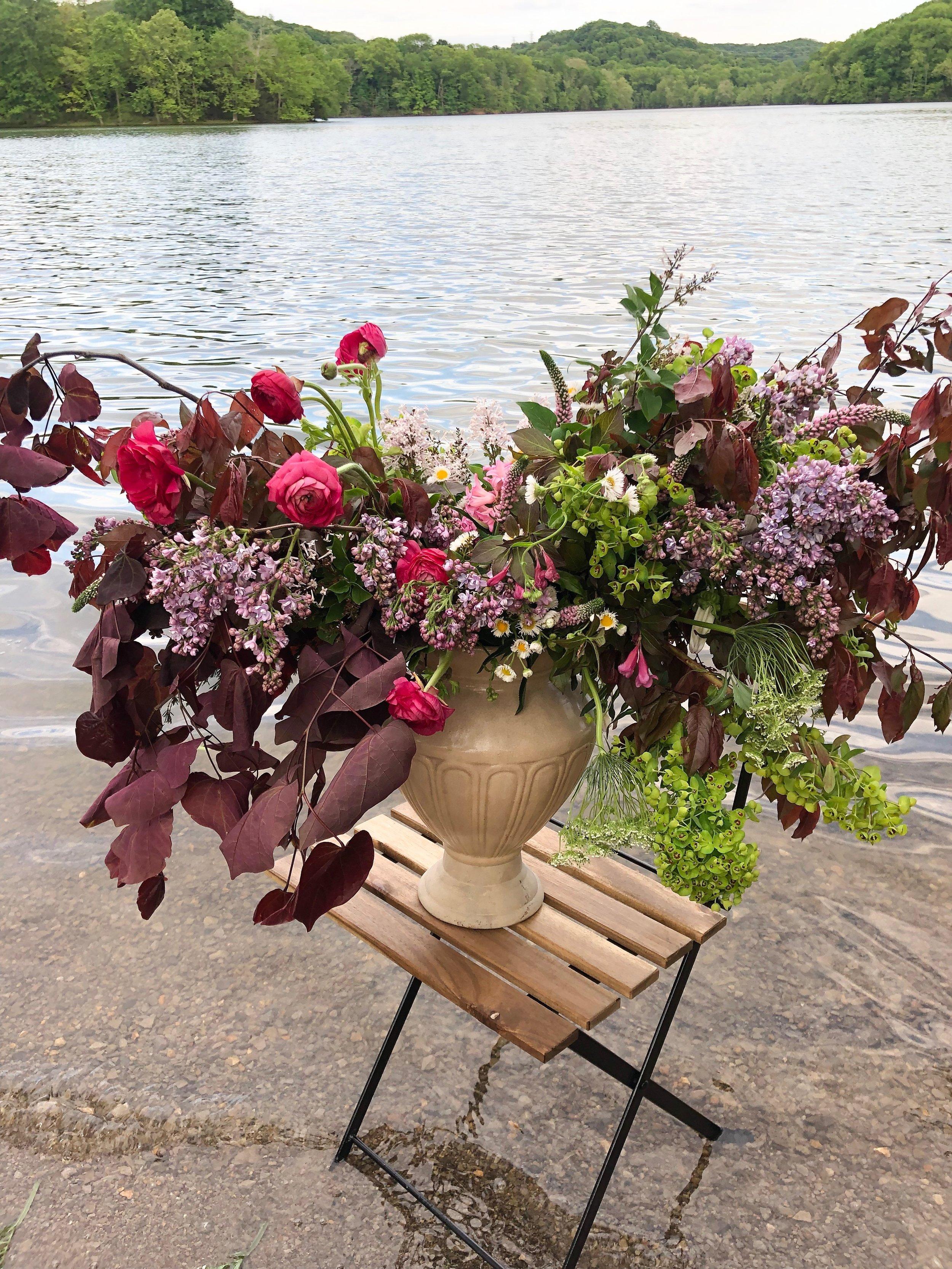 Radnor lake floral design