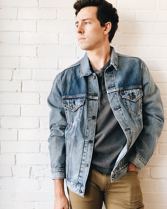 Check out our selection of men's @levis jeans and jackets!