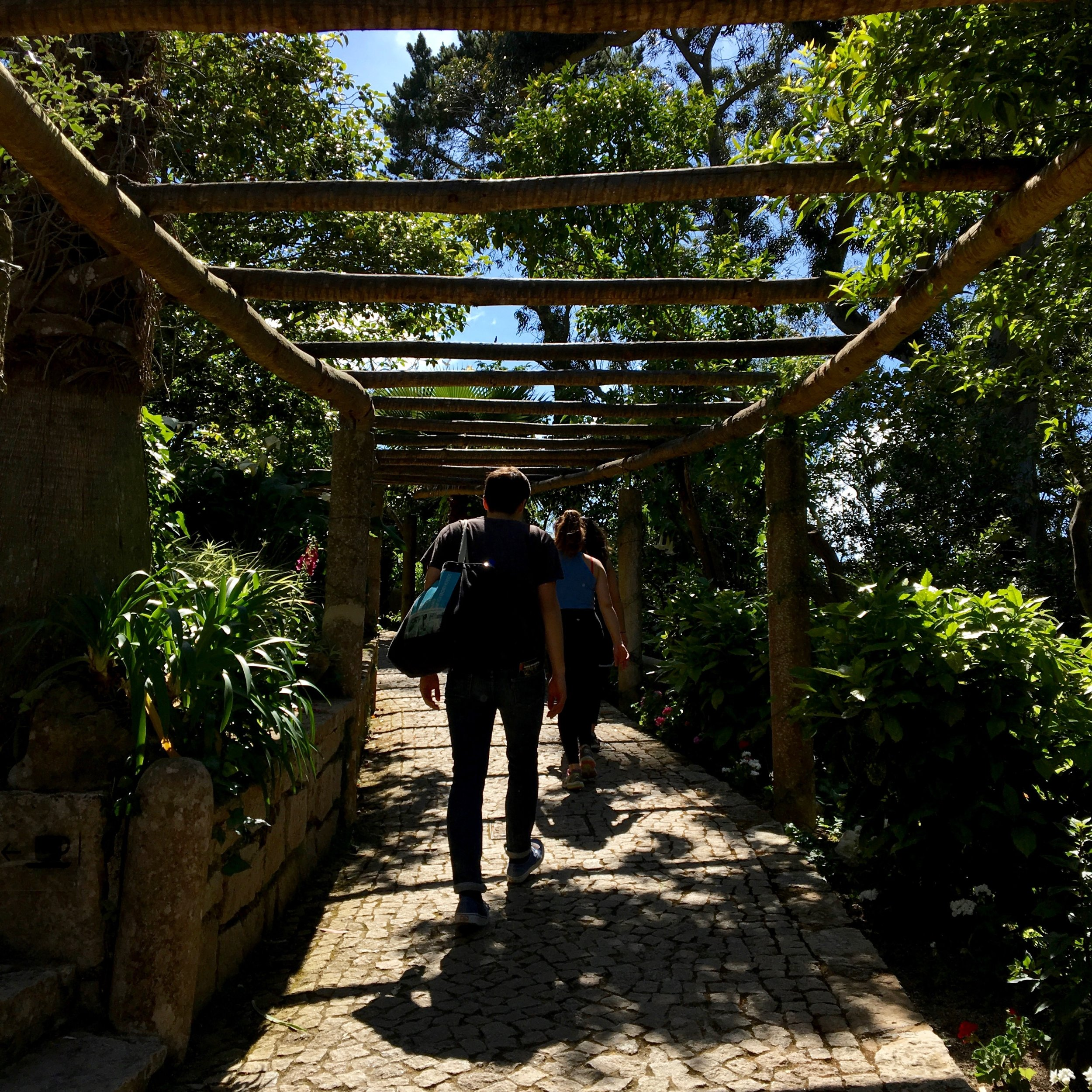 Hiking up to the castles in Sintra, Portugal  @lovethealchemist