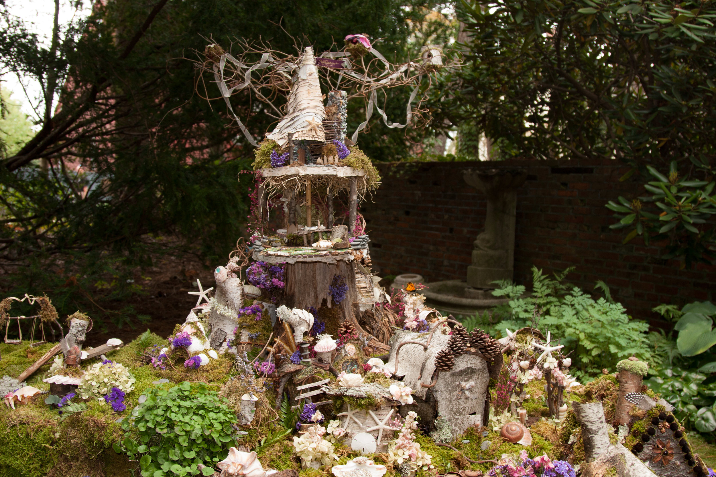 Fairy Village - Nancy Ames -