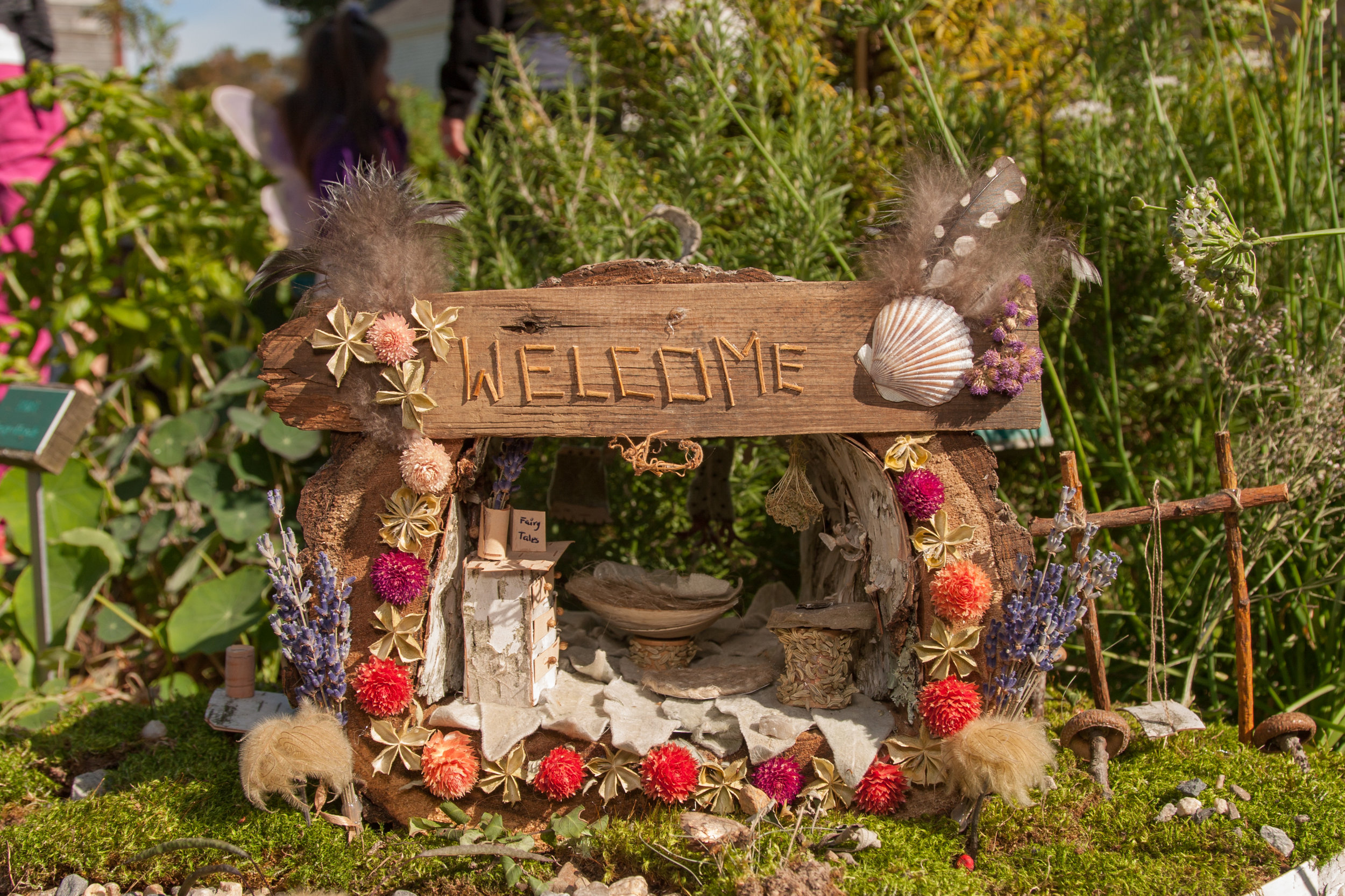 Welcome Fairy House -Shirley Walker-