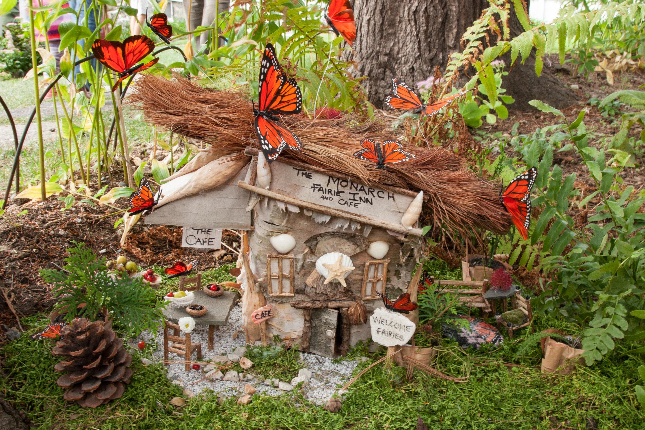 The Monarch Fairie Inn and Cafe Shadow Box