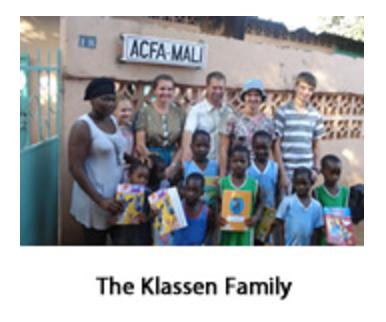 The Klassen Family