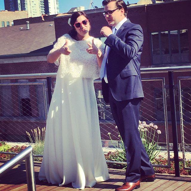 Jill & Neil's wedding was Lit!