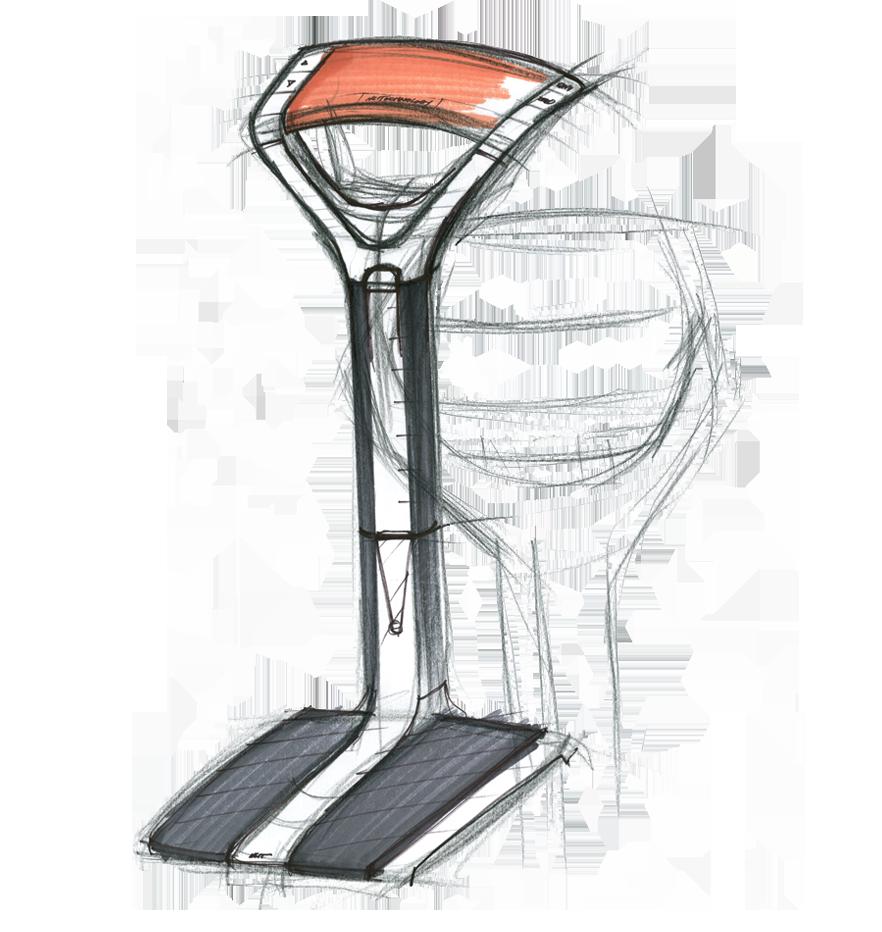 sketch of the NCIT Digital Beam Scale