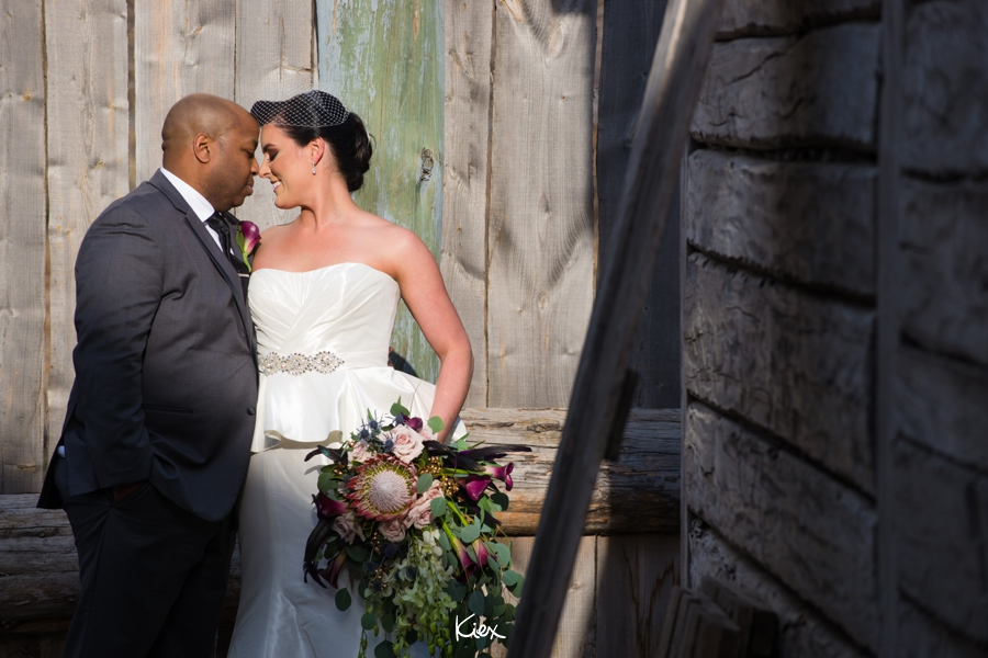 Bride and Groom Fort Gibraltar Wedding Event Planner Winnipeg