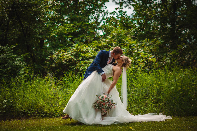Allison & Kevin's Summer Ashgrove Acres Wedding