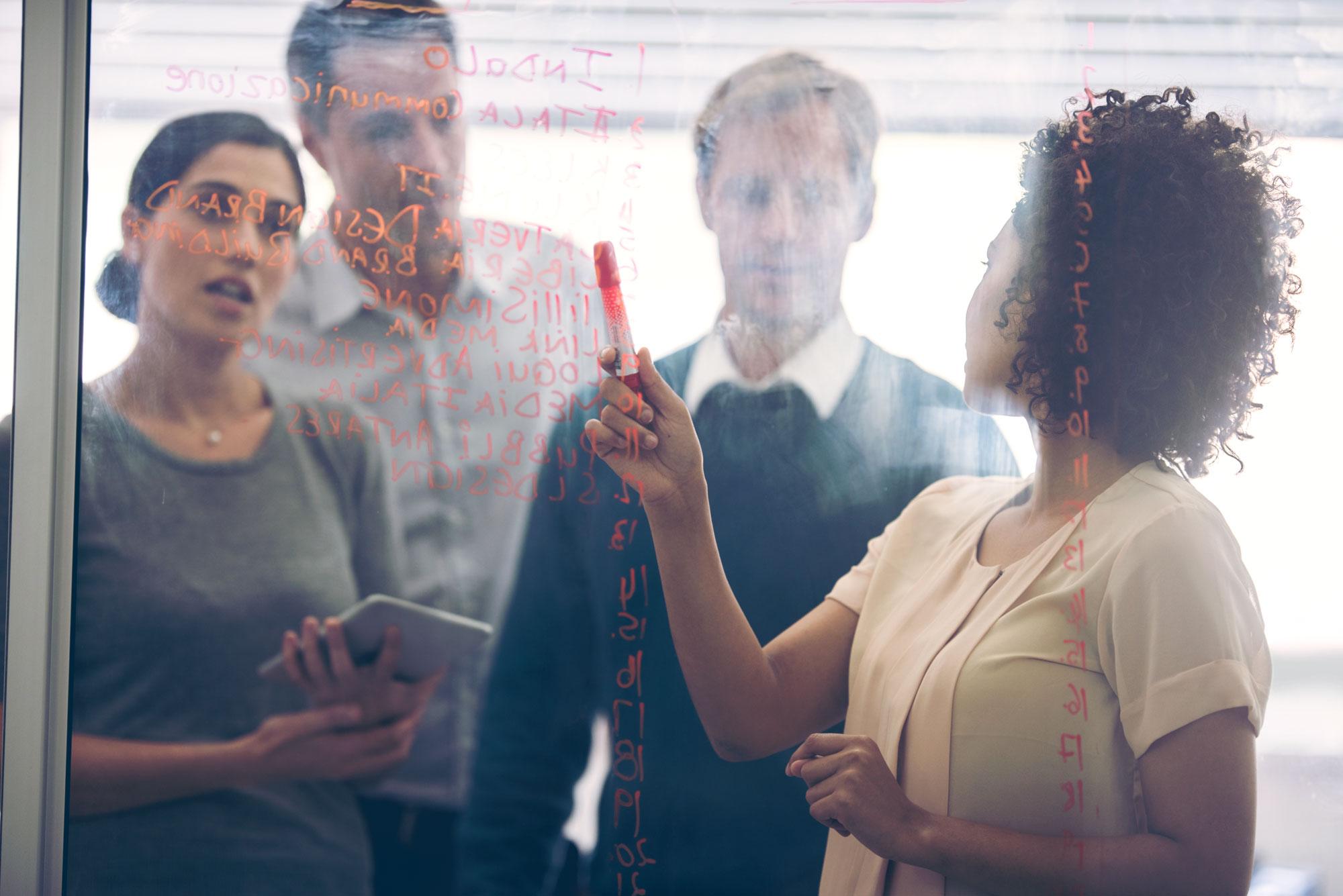 Collaborative Teamwork —   A multi-disciplined team approach makes short work of tall assignments.    Meet Our Team