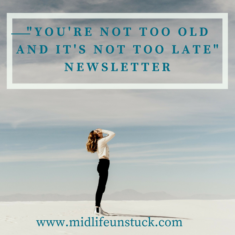 Click the image to receive twice monthly articles, strategies and stories to inspire your career change.