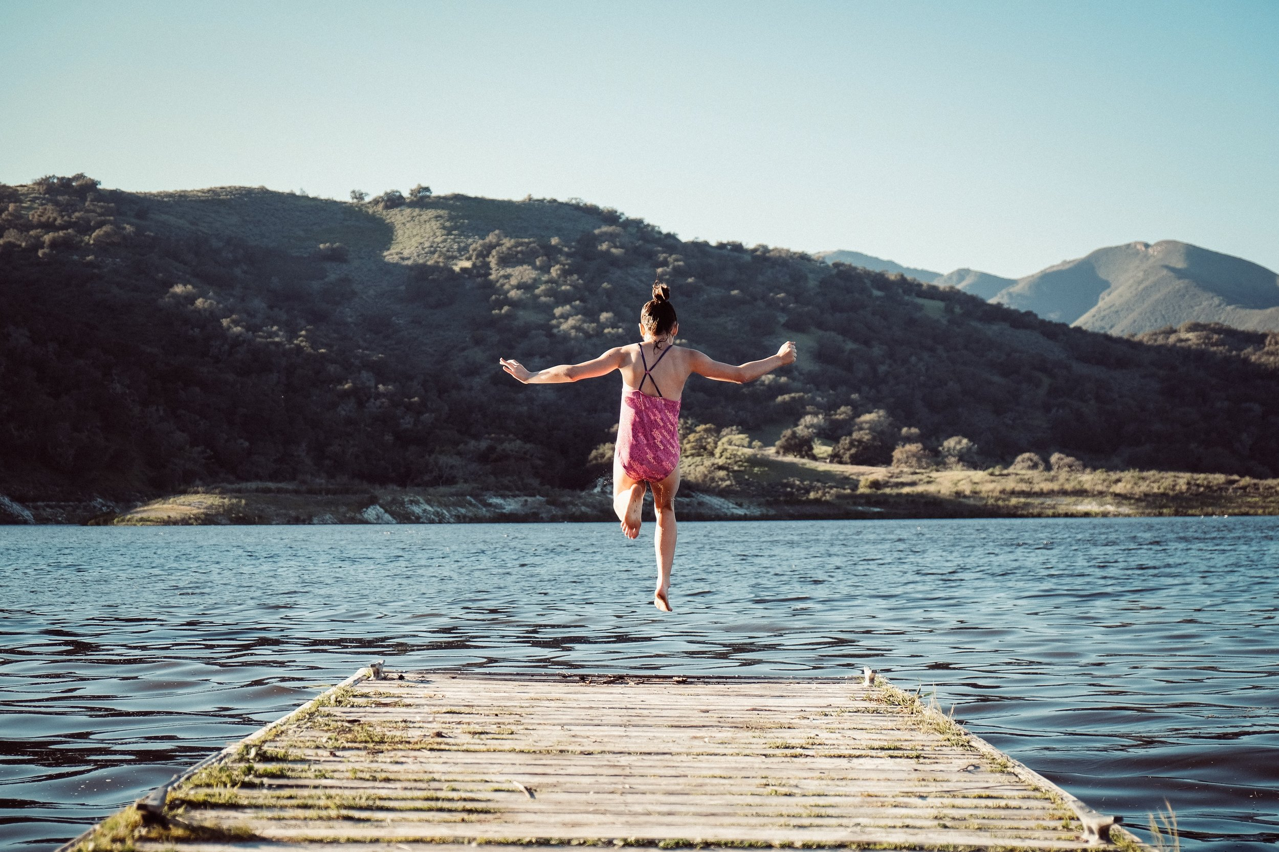 Leaps of faith are for kids - not for midlifers with mortgages, kids, egos or status within friendship groups