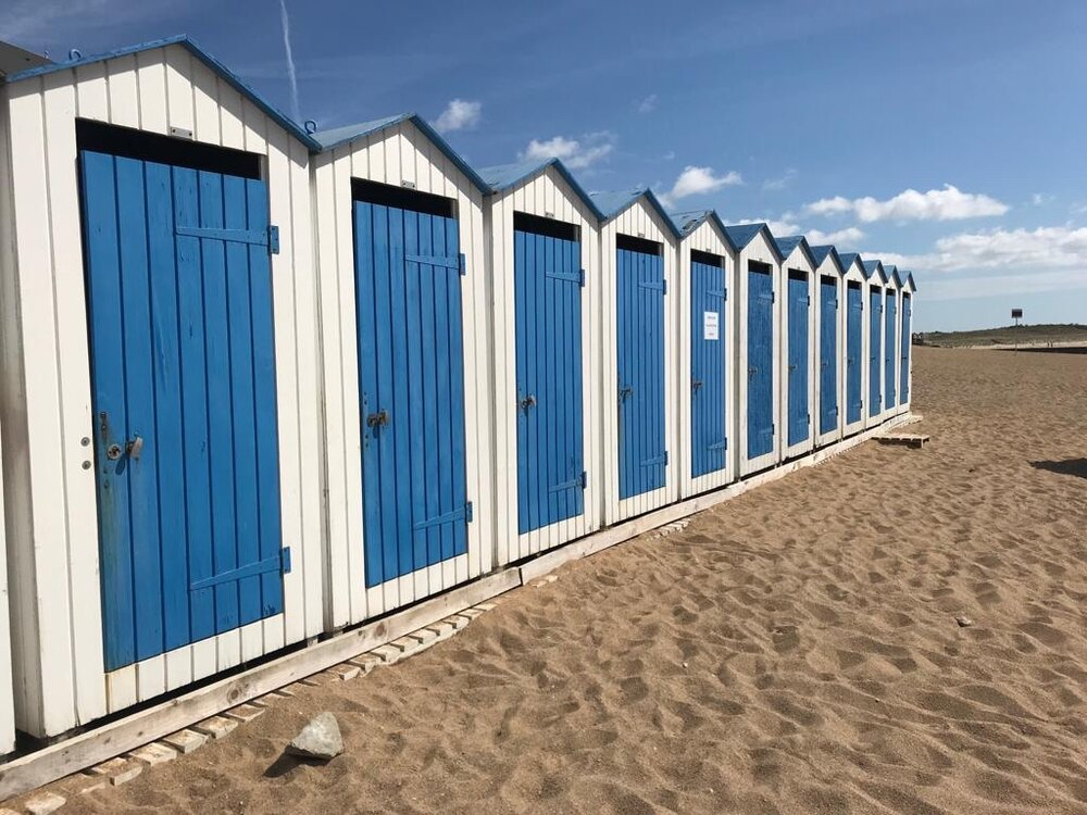 Normally I do a little work each day on holiday - this year not. But I did reflect on whether my career change was worth it. These beach huts were beside a 50metre sea pool on the Atlantic Coast of France. My husband raced each other to the giggles of our daughters...and a few locals enjoying the last days of summer.