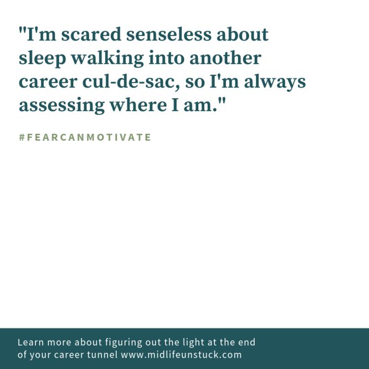 Scared senseless