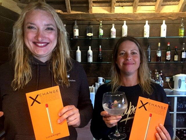 Kate Gregory and Helen Muncie from The Gin Kitchen - who founded their gin distillery in the evenings and the weekends, alongside their corporate careers. Their career change story is the first featured in my book X Change: How to torch your work treadmill.