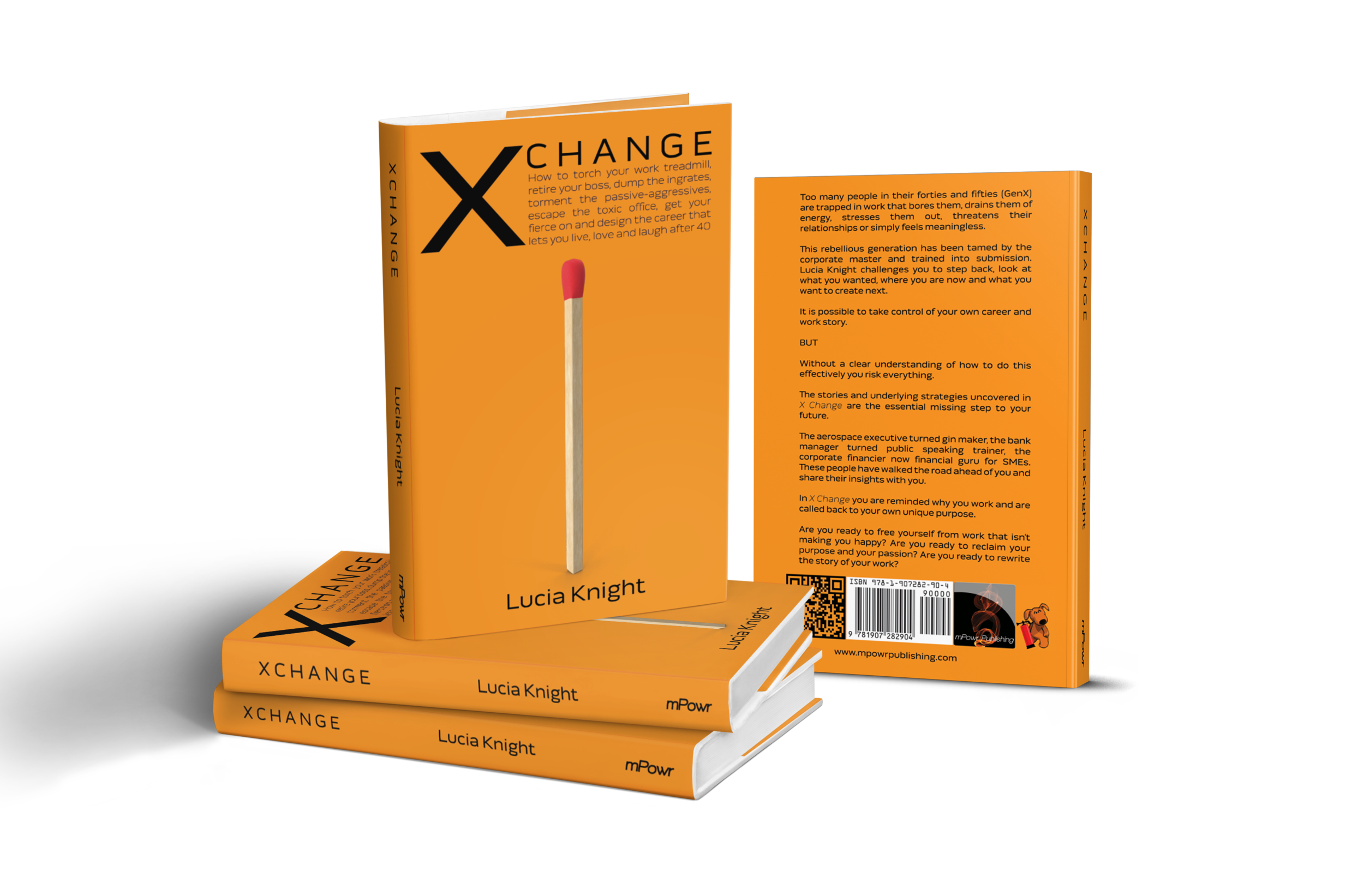 X Change: How to torch your work treadmill. The secrets behind the stories of 20 individuals who changed career in their 40s, 50s or 60s and describe themselves as happier.