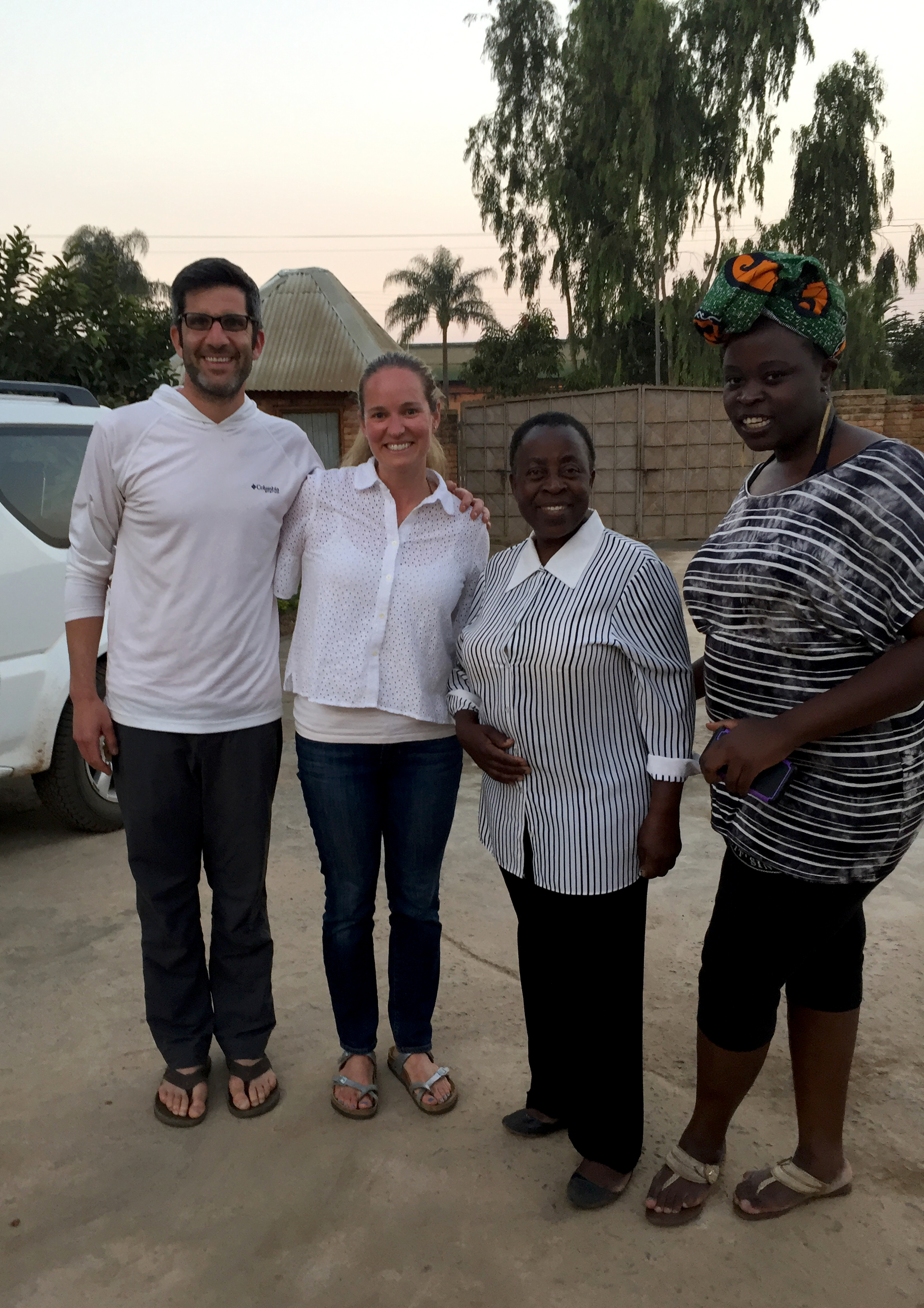We were fortunate enough to have the chance to visit the family of our Denver friends, who are from Mzuzu.