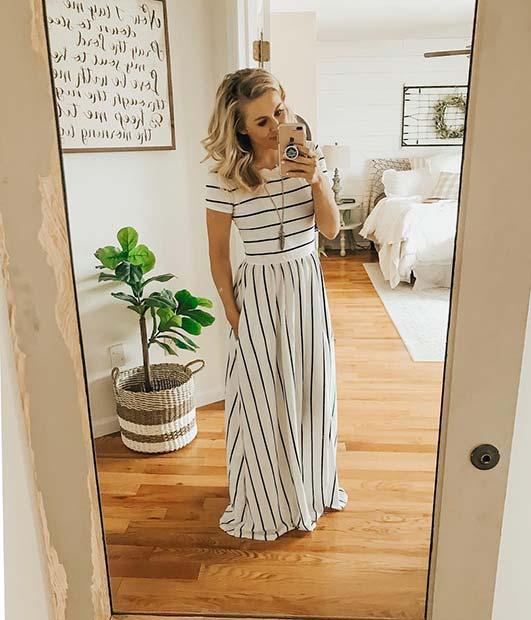 Modest Maxi Dress