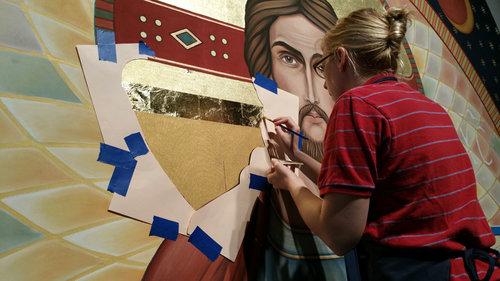 Center Panel Ruth at Work Close up.jpg