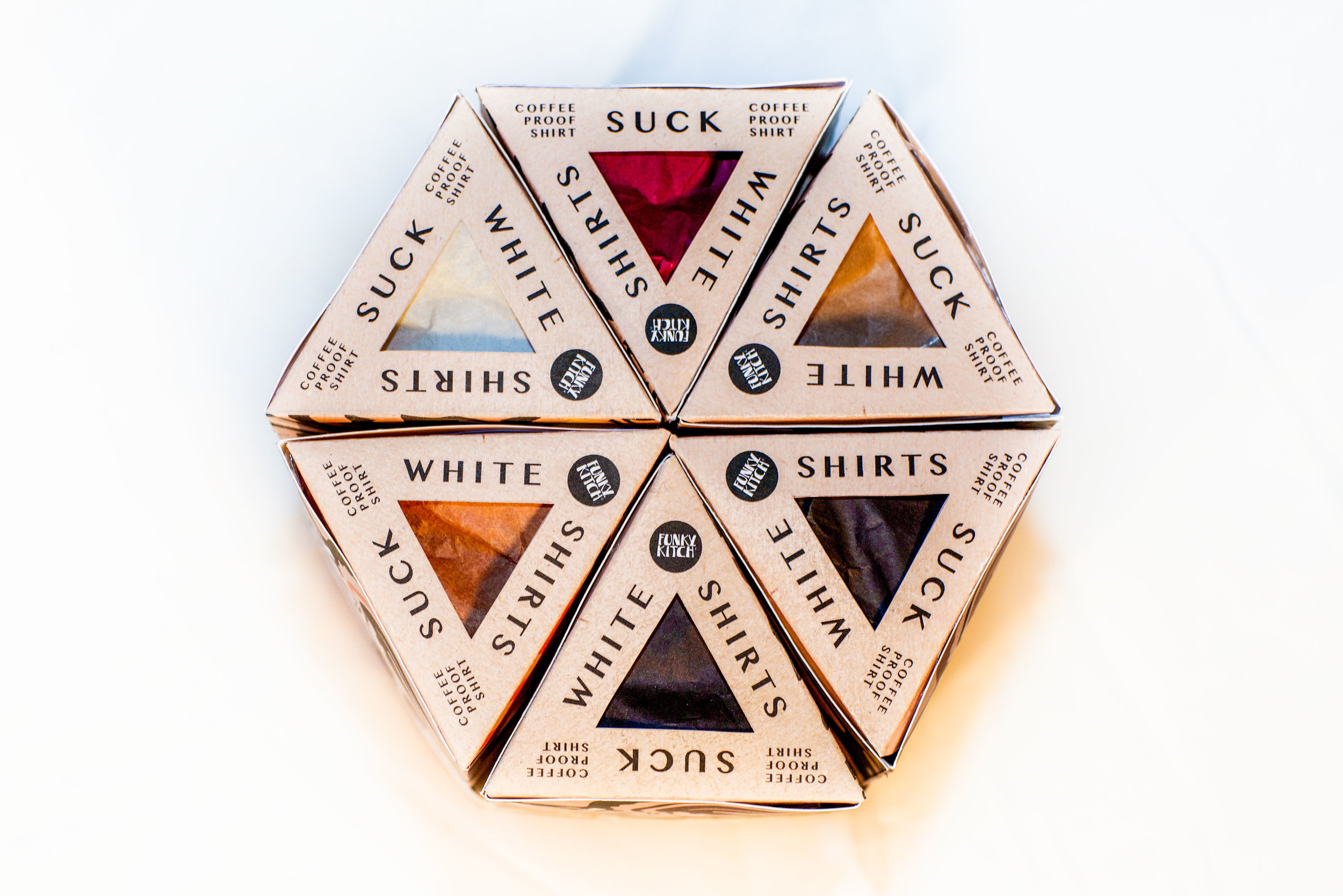KITCH -COFFEE PROOF SHIRT - PACKAGING DESIGN