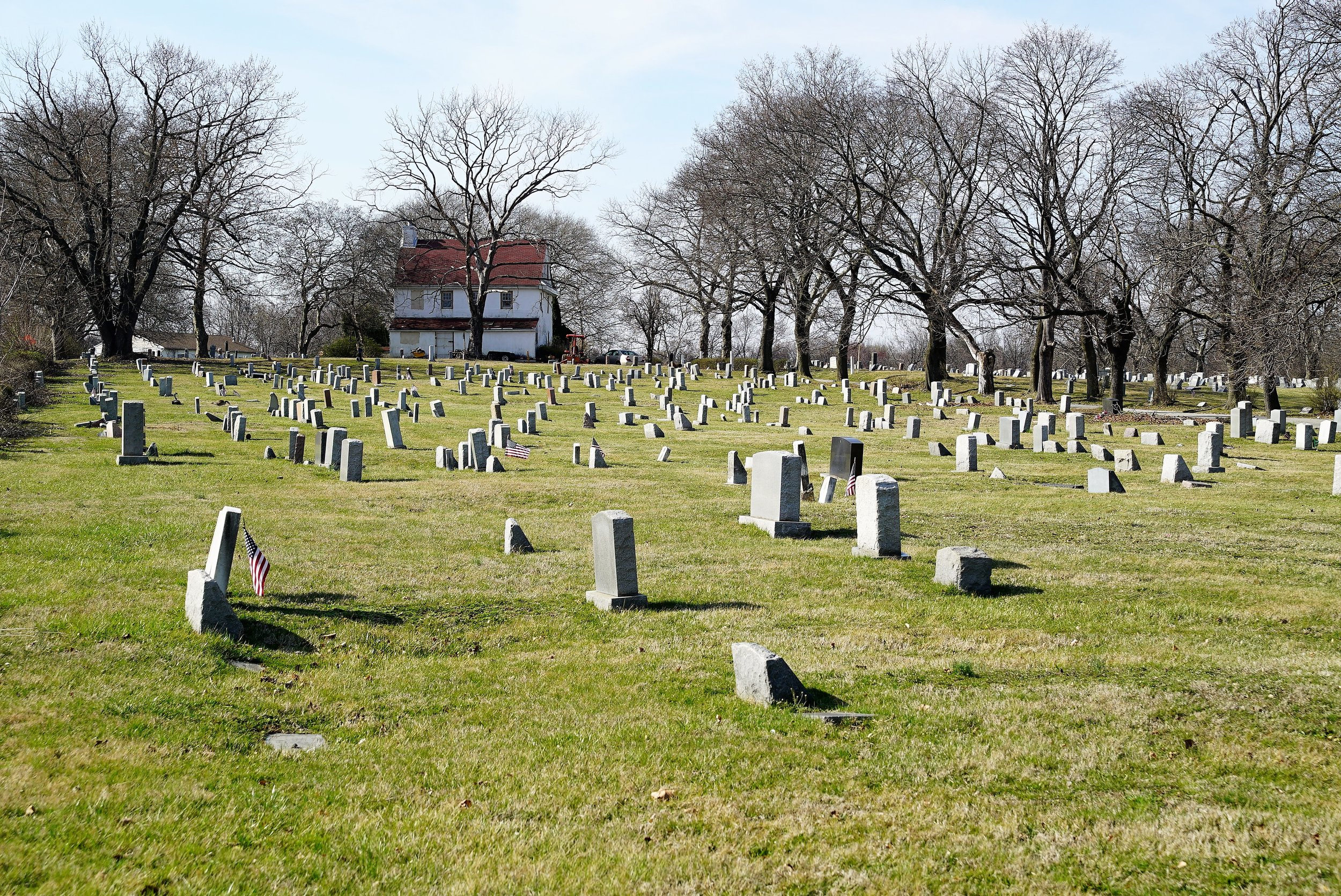 Photo: Mount Lawn Cemetery, Sharon Hill, PA. It is nicer across the highway.