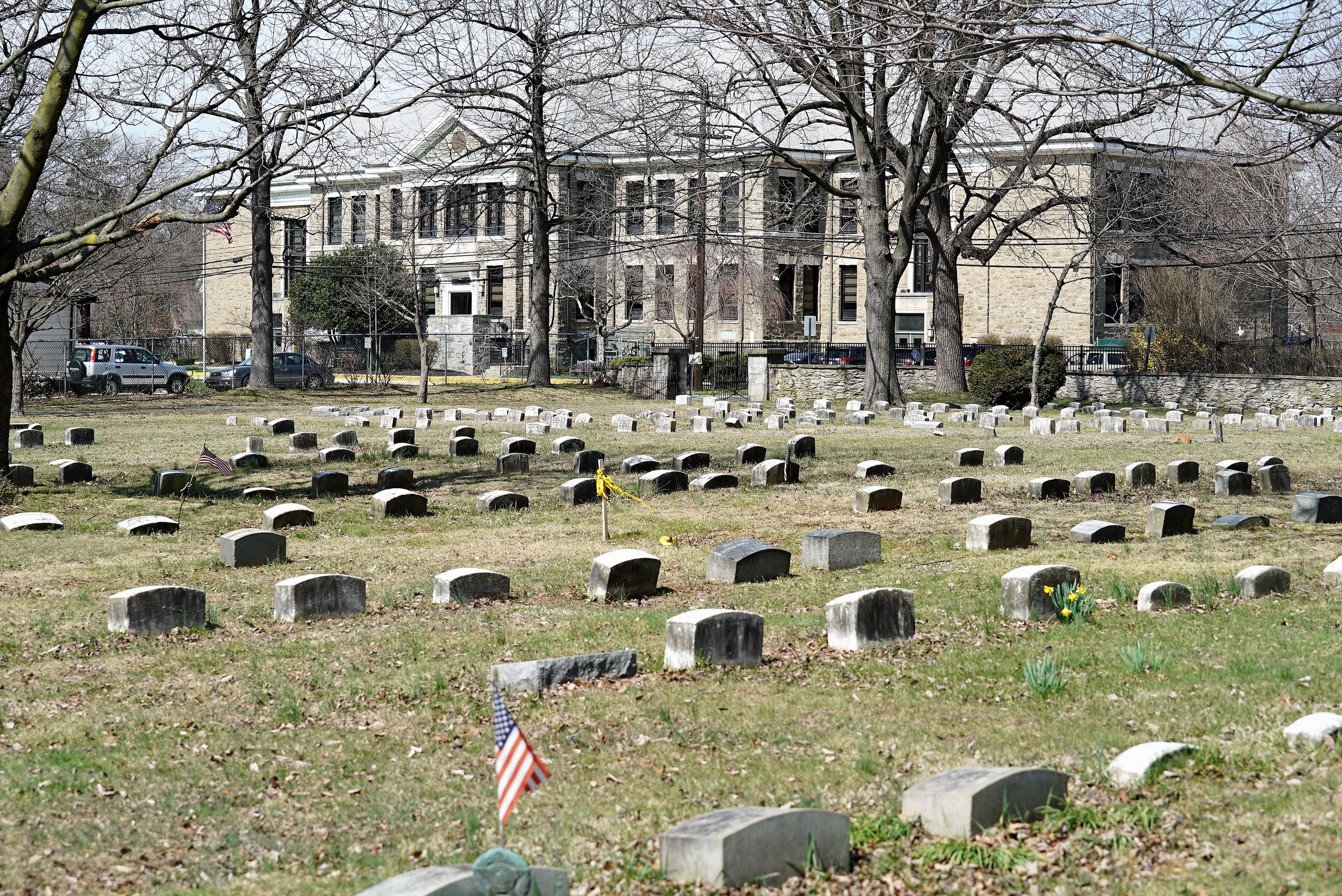 Old Haverford Friends Meeting House Cemetery. Havertown, Pennsylvania.