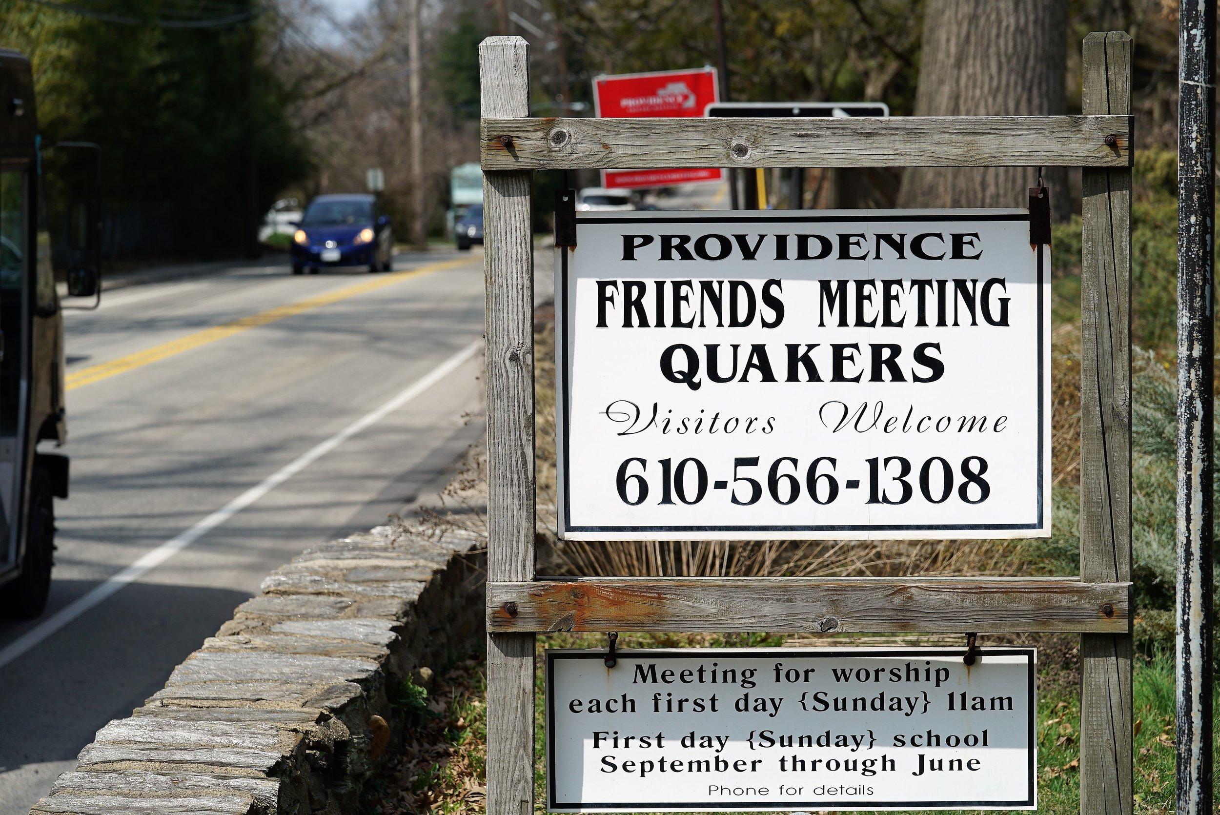 Providence Friends Meeting Cemetery. Media, Pennsylvania.