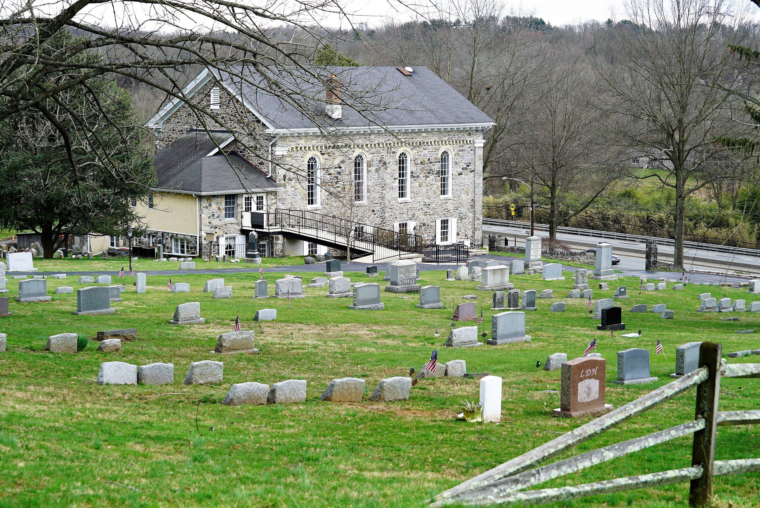 Brandywine Baptist Church Cemetery. Chadds Ford, Pennsylvania.