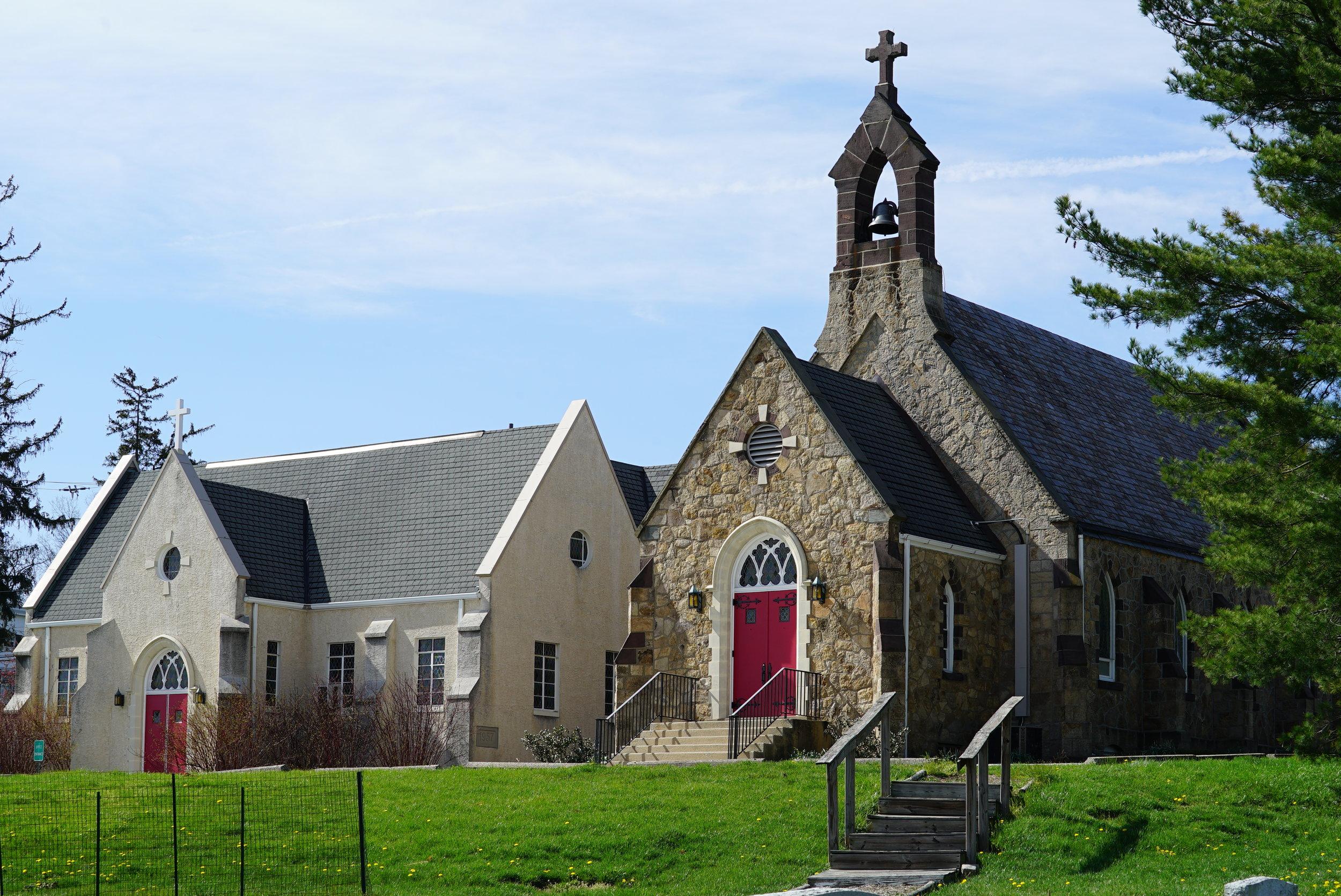 St. Paul's Episcopal Church Cemetery. Oaks, Pennsylvania.