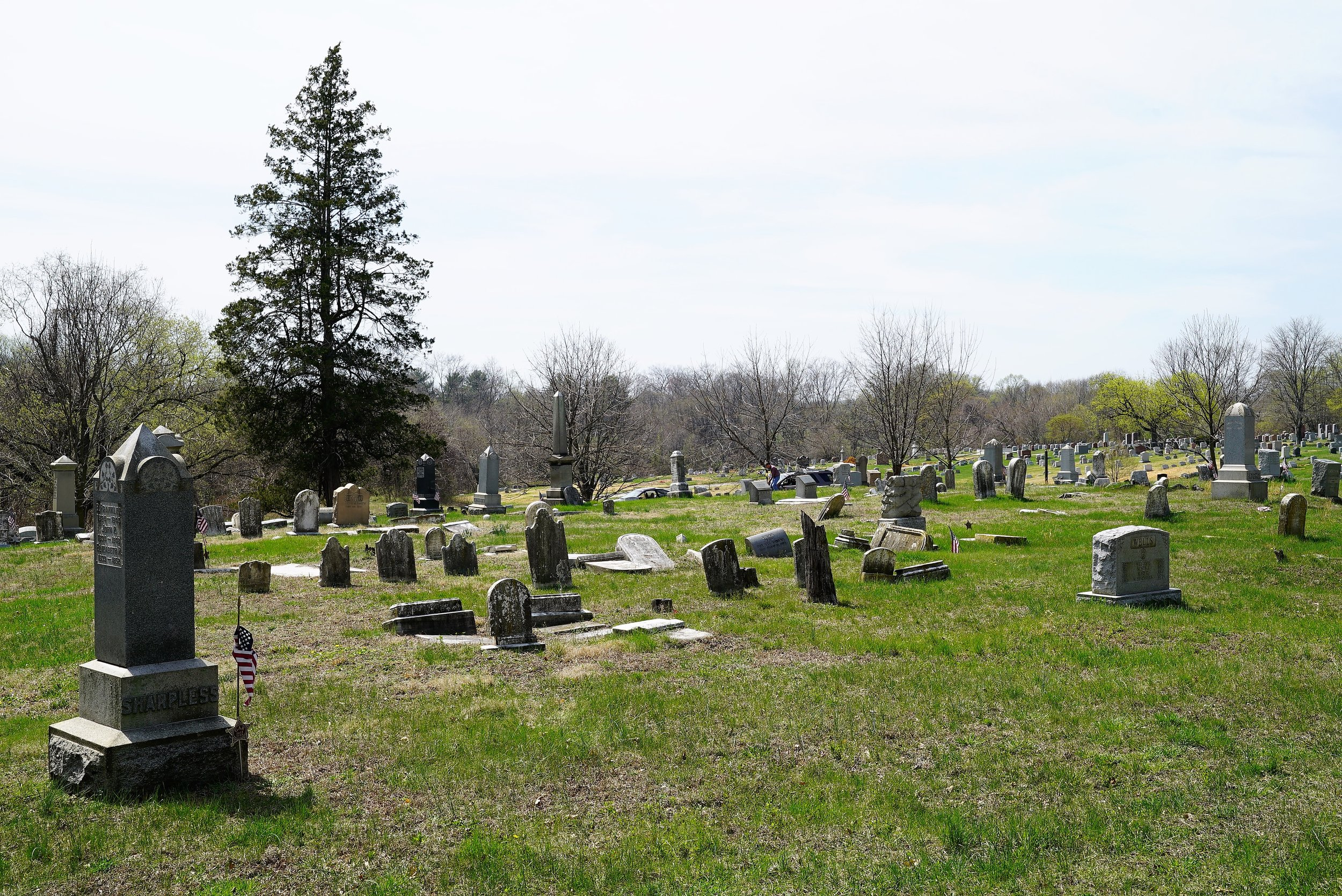 Darby Methodist Meeting Cemetery. Collingdale, PA.