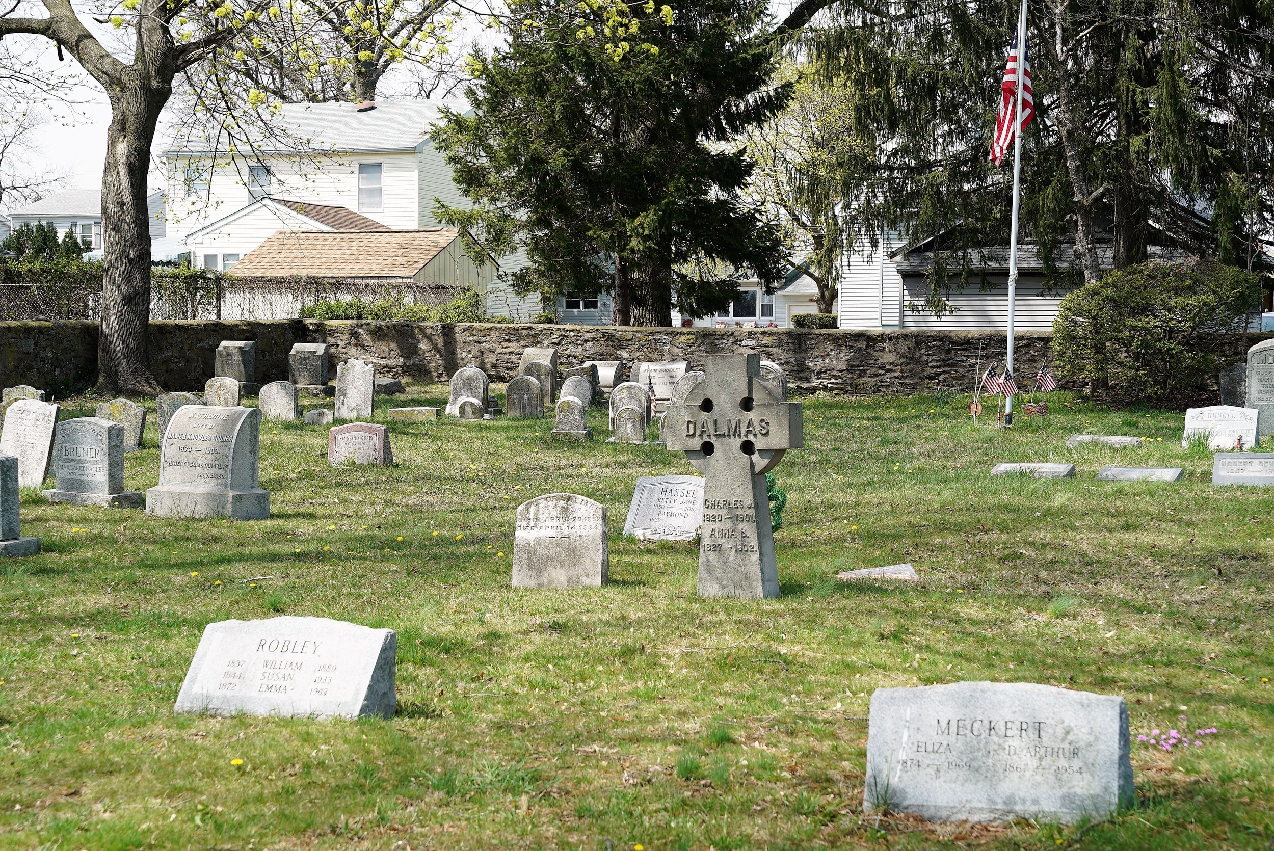 Knowles Cemetery. Glenolden, PA.