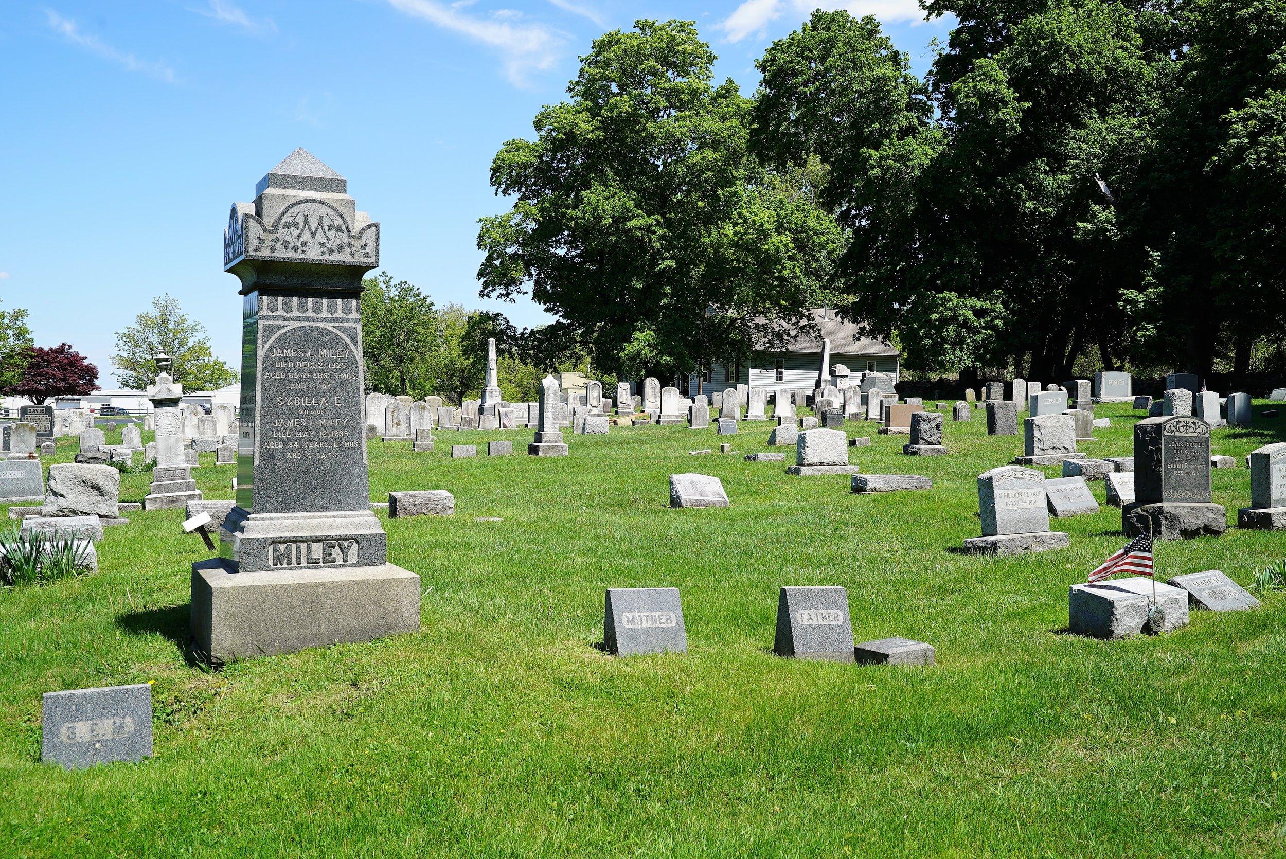 Covenant Presbyterian Church Cemetery. Malvern, Pennsylvania.