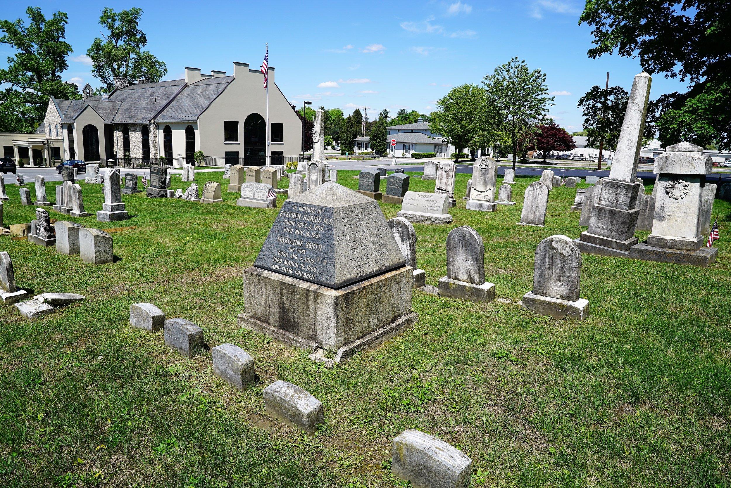 Covenant Presbyterian Church Cemetery. Malvern, PA.