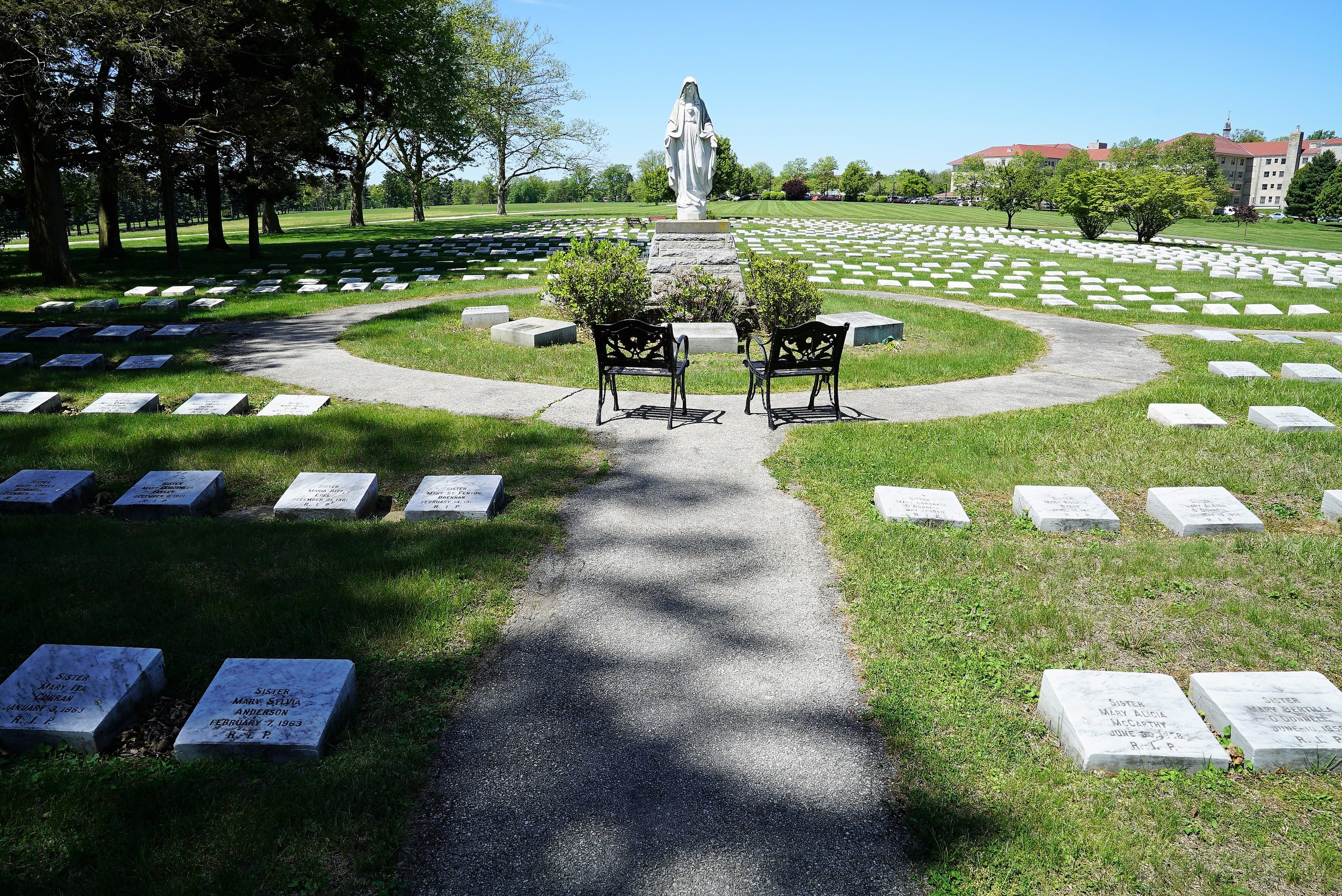 Immaculata Cemetery. East Whiteland Township, Pennsylvania.