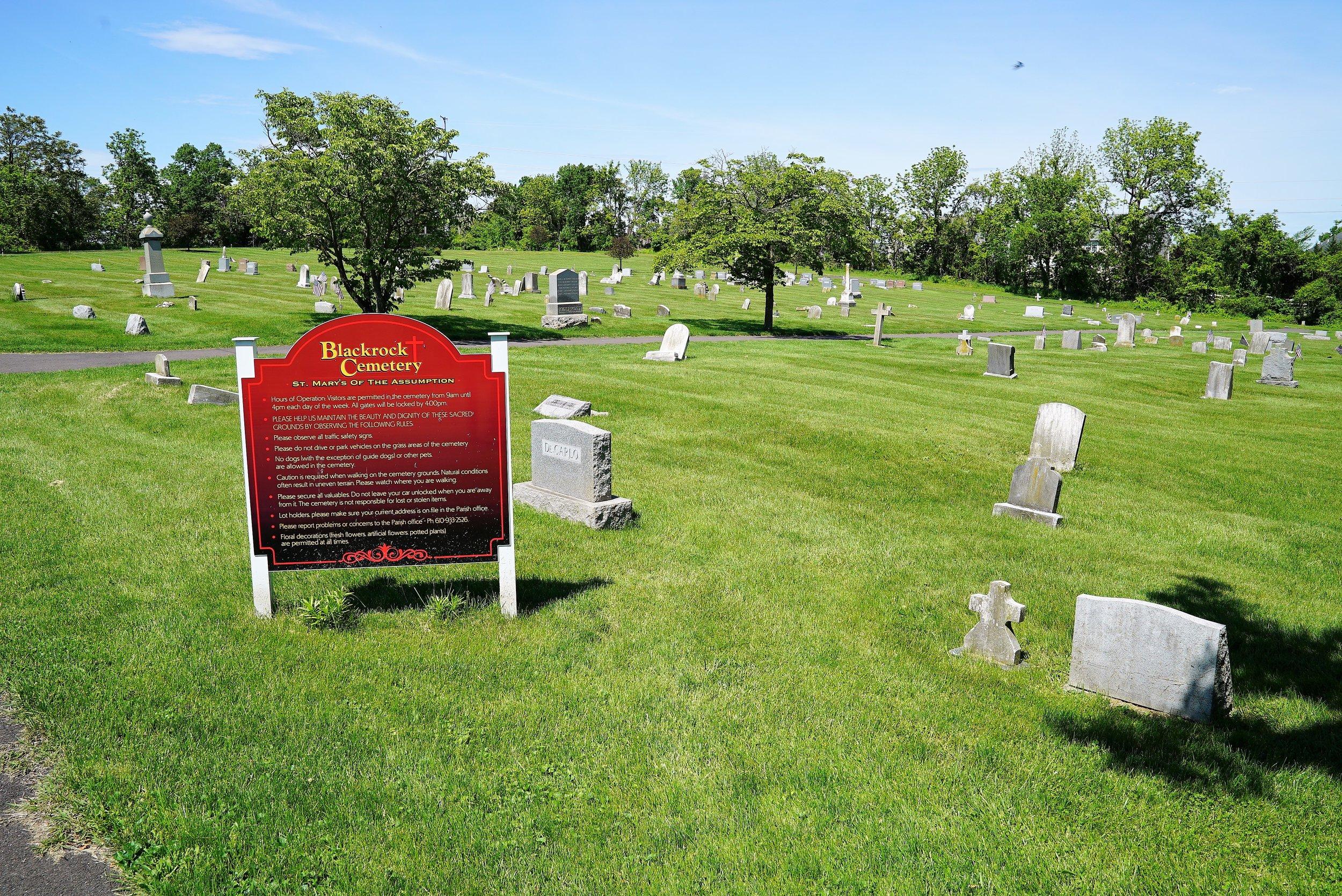 Black Rock Cemetery. Phoenixville, Pennsylvania.