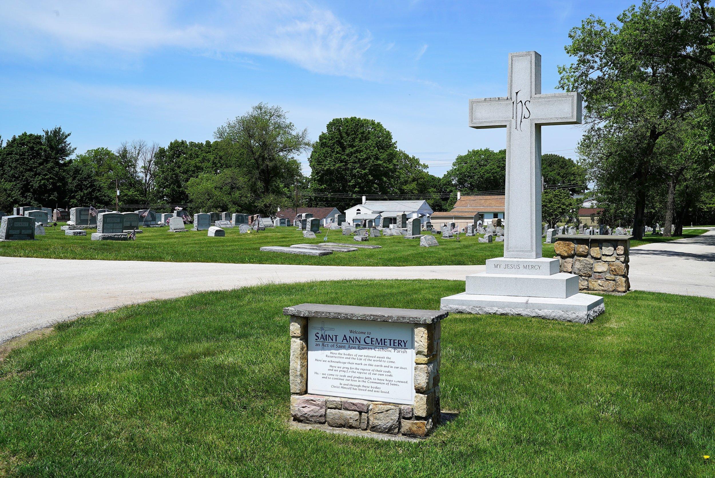 Saint Ann Cemetery. Phoenixville, Pennsylvania.