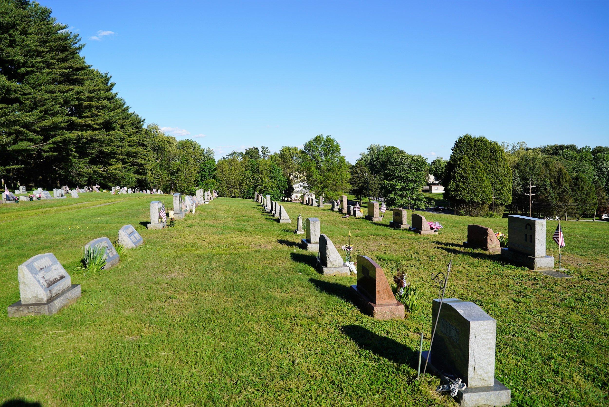 Romansville United Methodist Church Cemetery. Romansville, Pennsylvania.