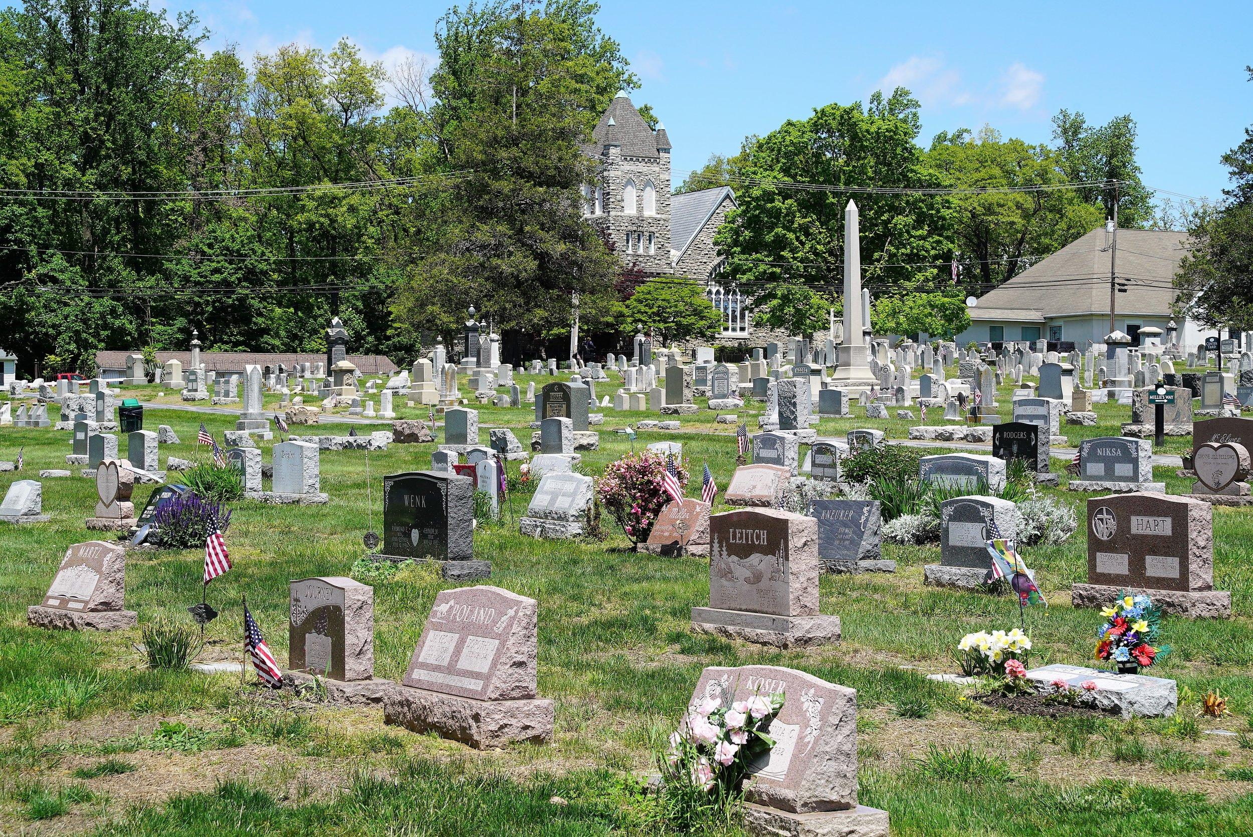 Hopewell Cemetery. Downingtown, Pennsylvania.