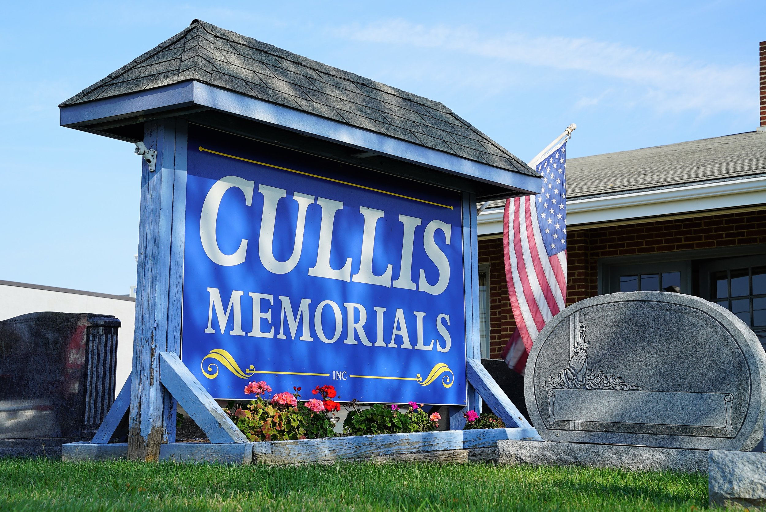 Cullis Memorials, located in Brookhaven, PA has been in business since 1875.