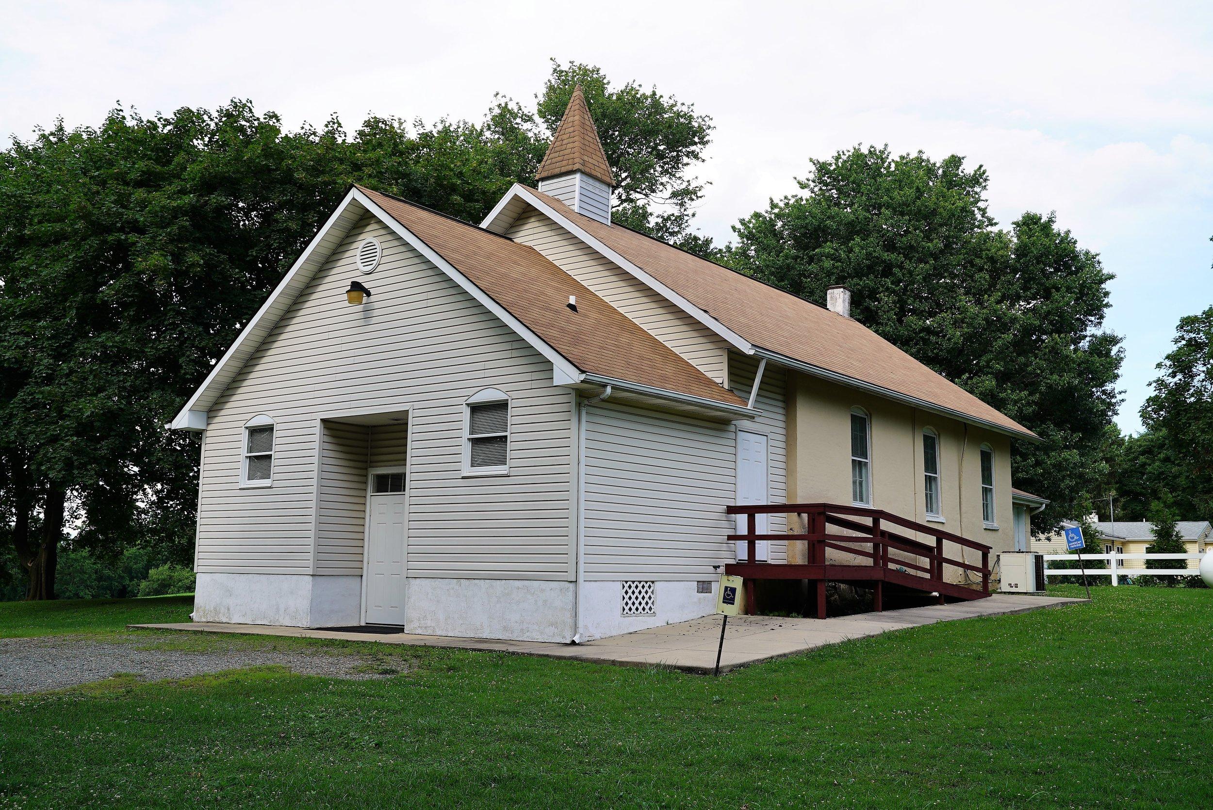 Auburn Church Regular Baptist. Landenberg, Pennsylvania.