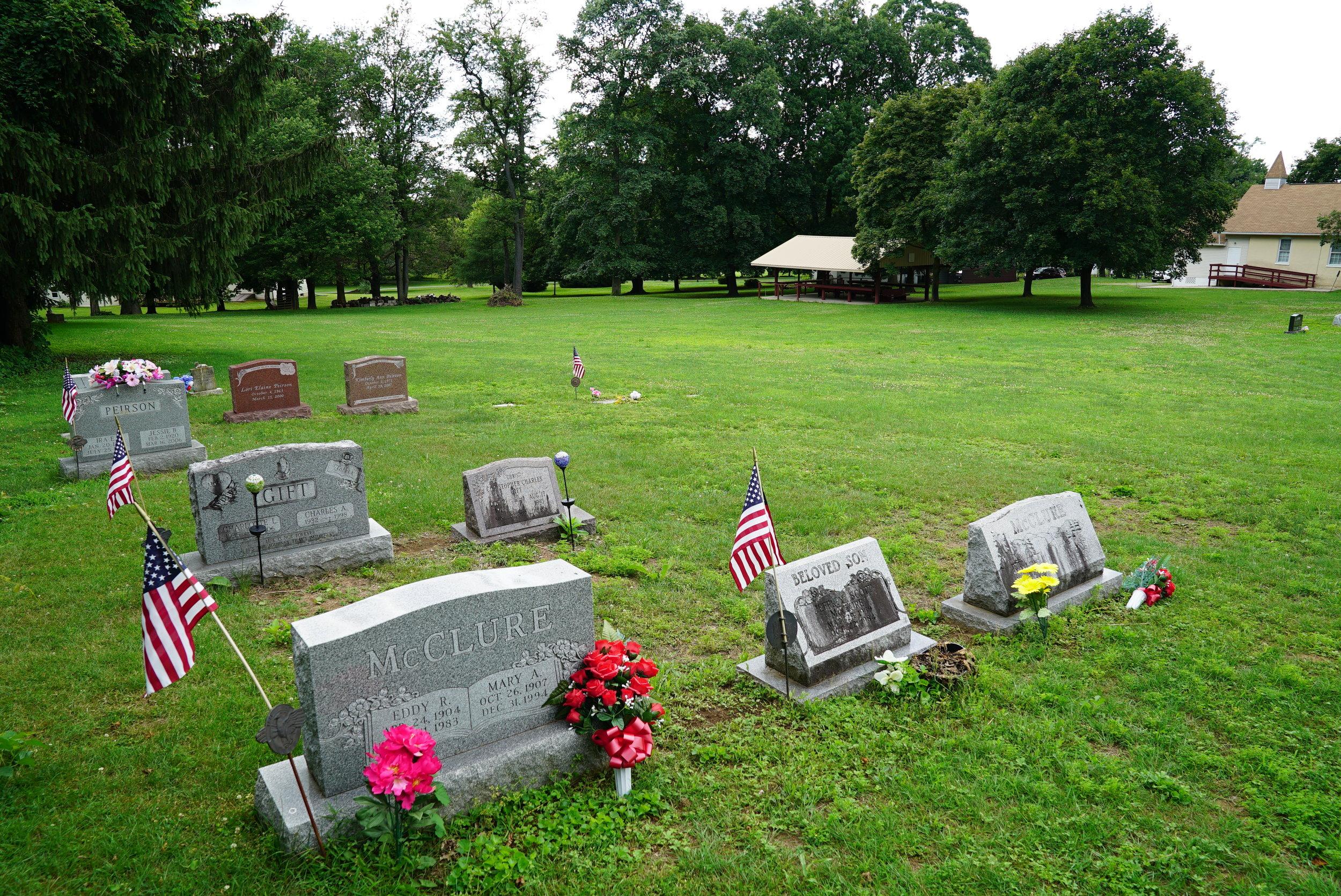 Auburn Church Regular Baptist Cemetery. Landenberg, Pennsylvania.