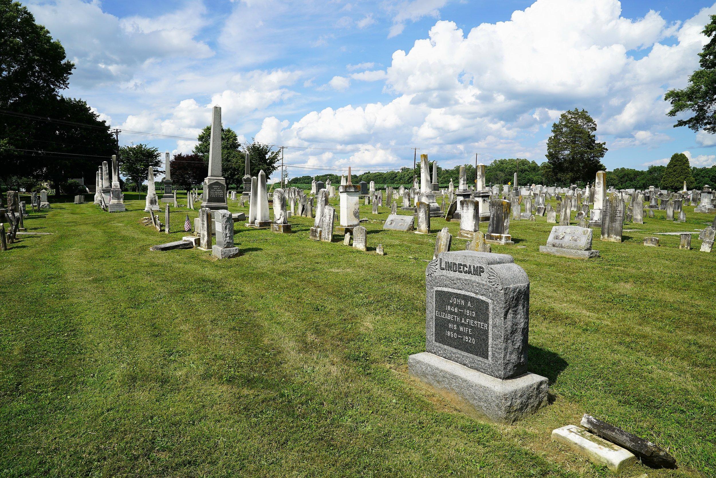 Manor Presbyterian Church Cemetery. Cochranville, Pennsylvania.