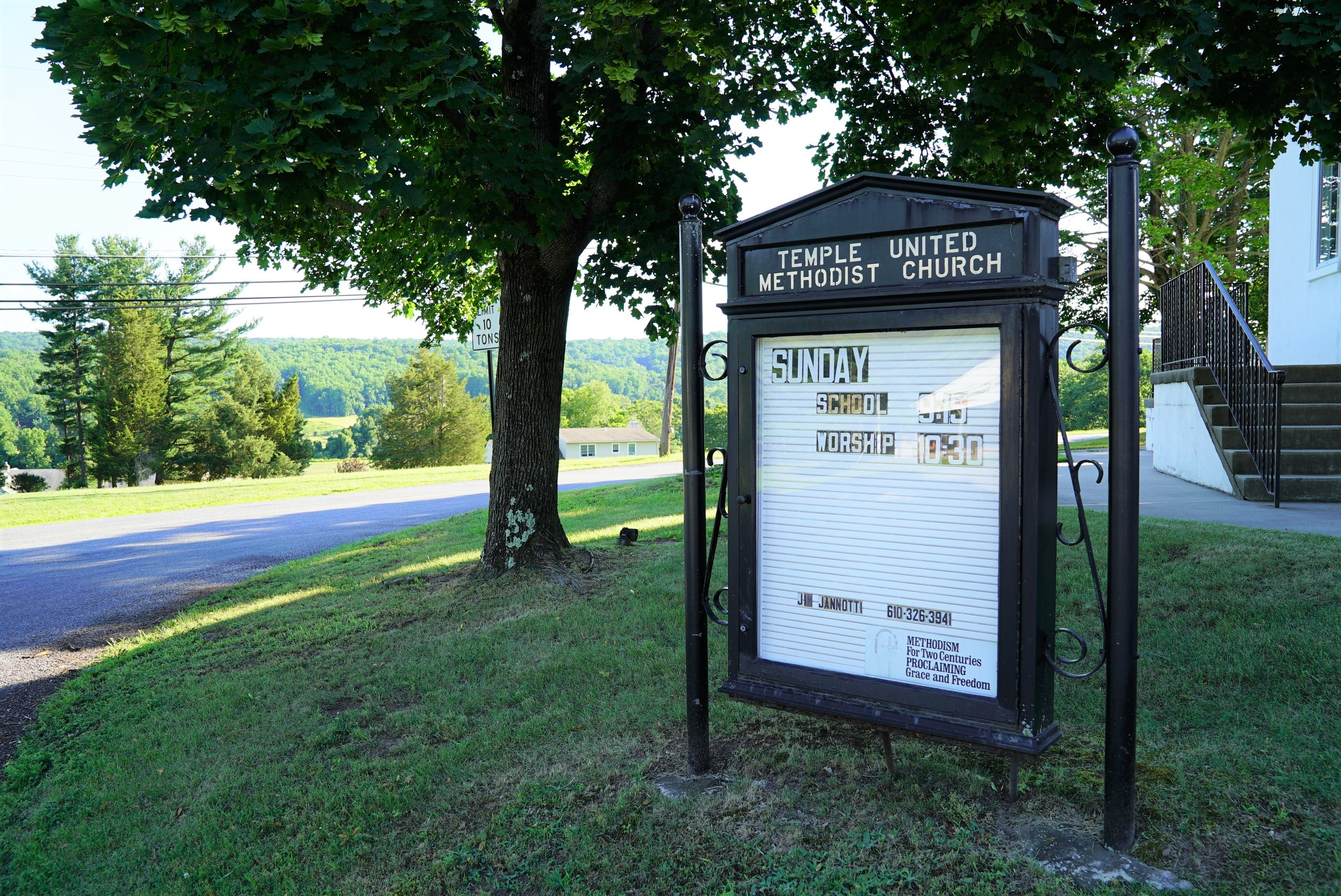 Temple United Methodist Church Cemetery. North Coventry, Pennsylvania.