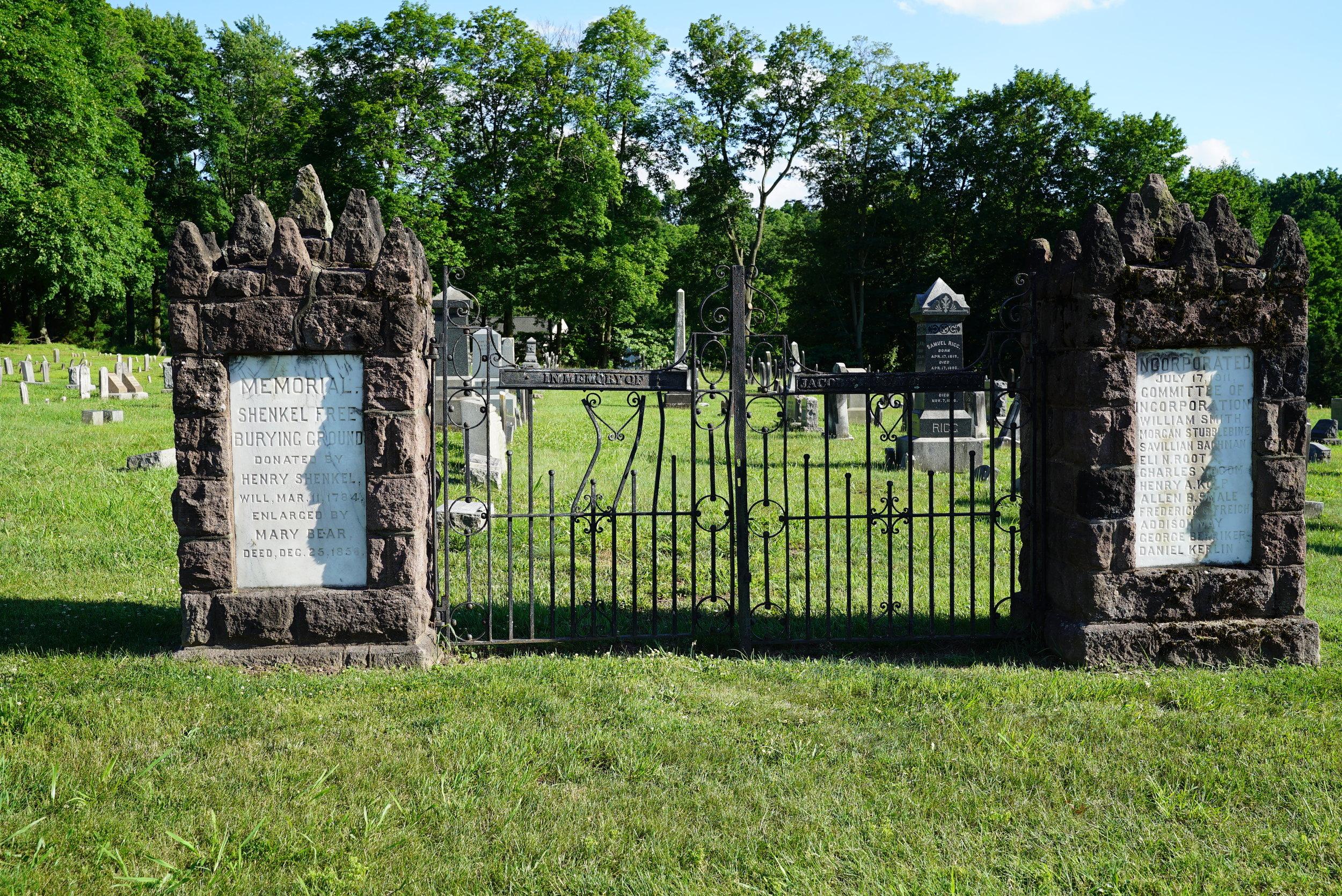 Shenkel United Church Of Christ Cemetery. Pottstown, Pennsylania.