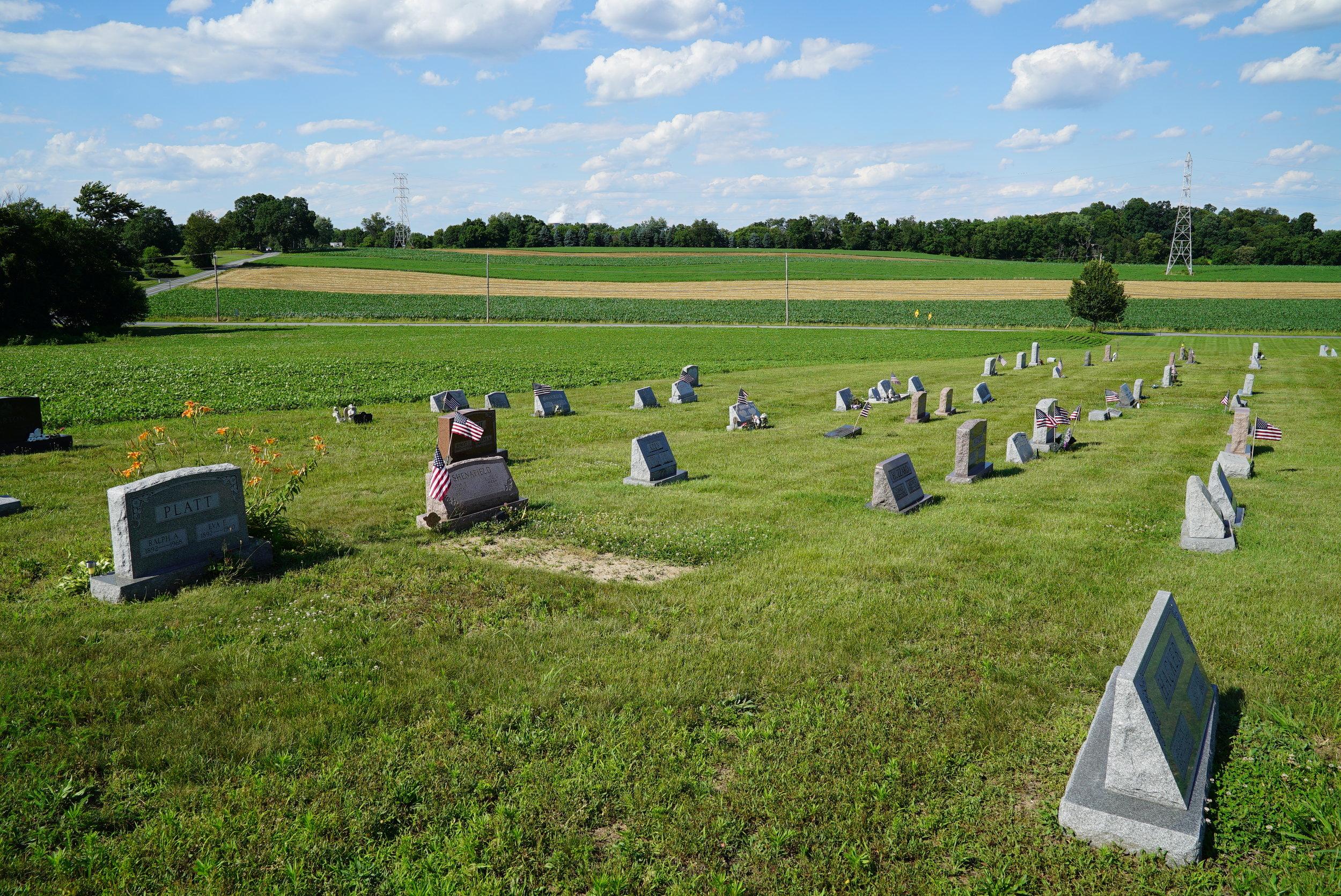 Bethel Uuited Methodist Church Cemetery. Spring City, Pennsylvania.