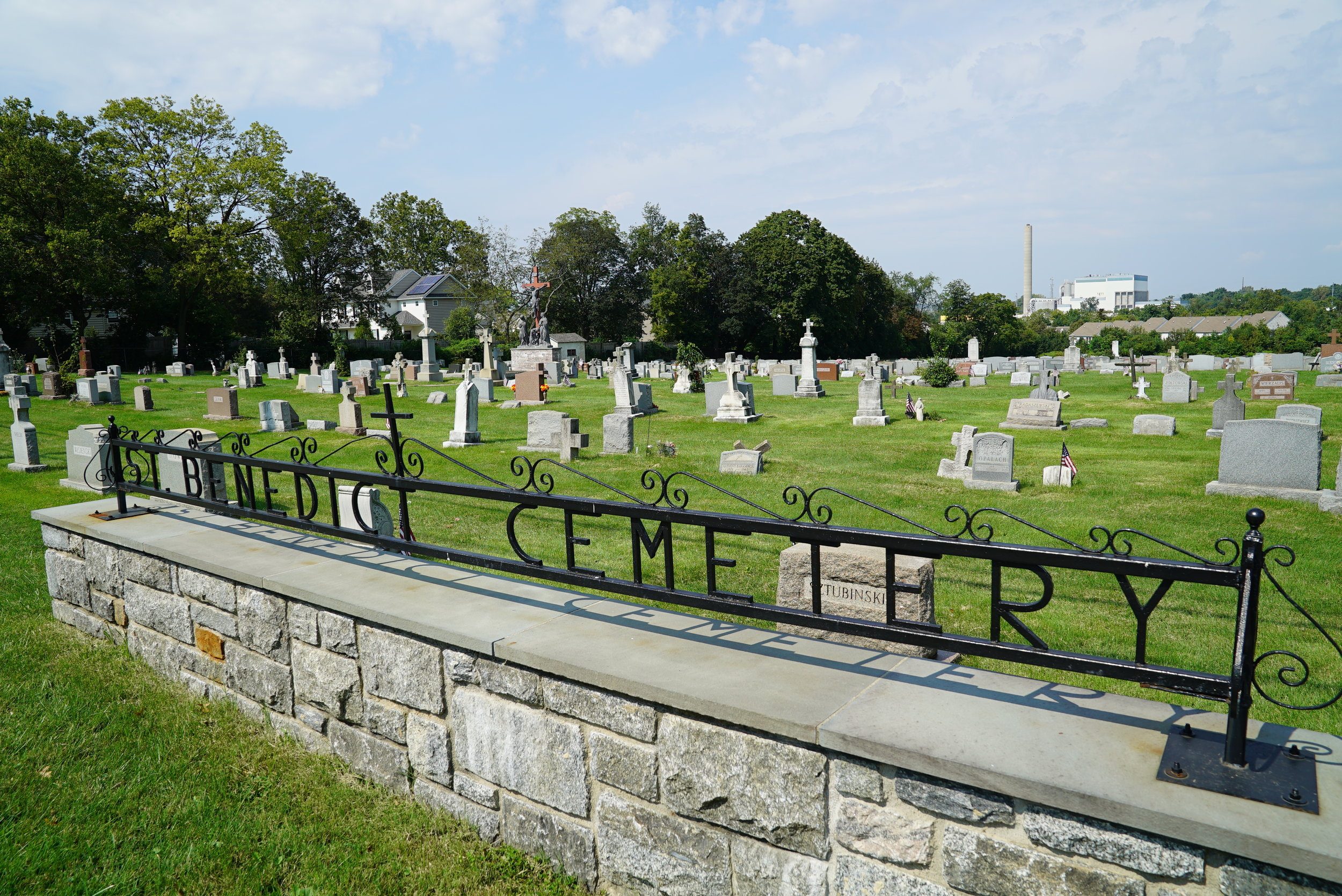 St. Benedict Cemetery. Conshohocken, Pennsylvania.