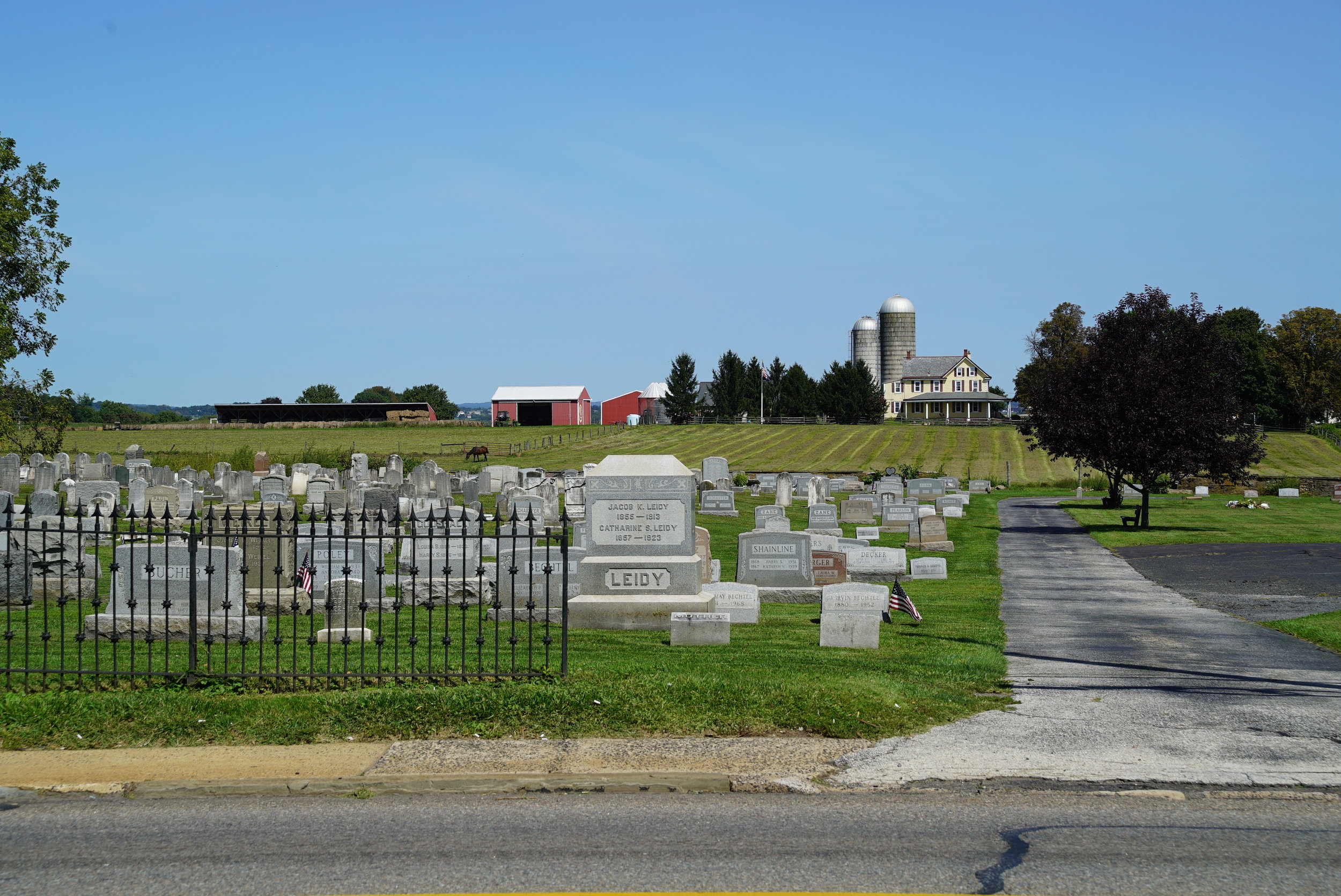 St. Luke's United Church of Christ Cemetery. Trappe, Pennsylvania.