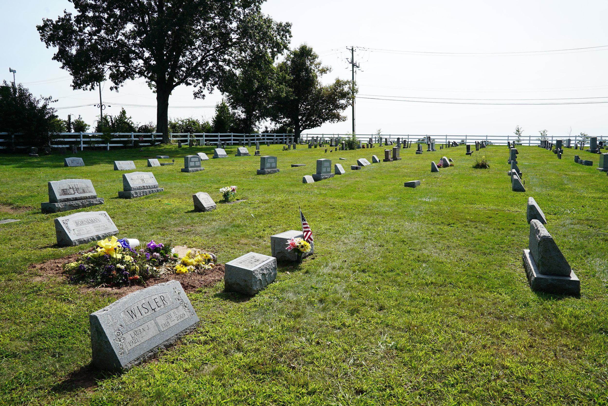 Mingo Cemetery. Royersford, Pennsylvania.