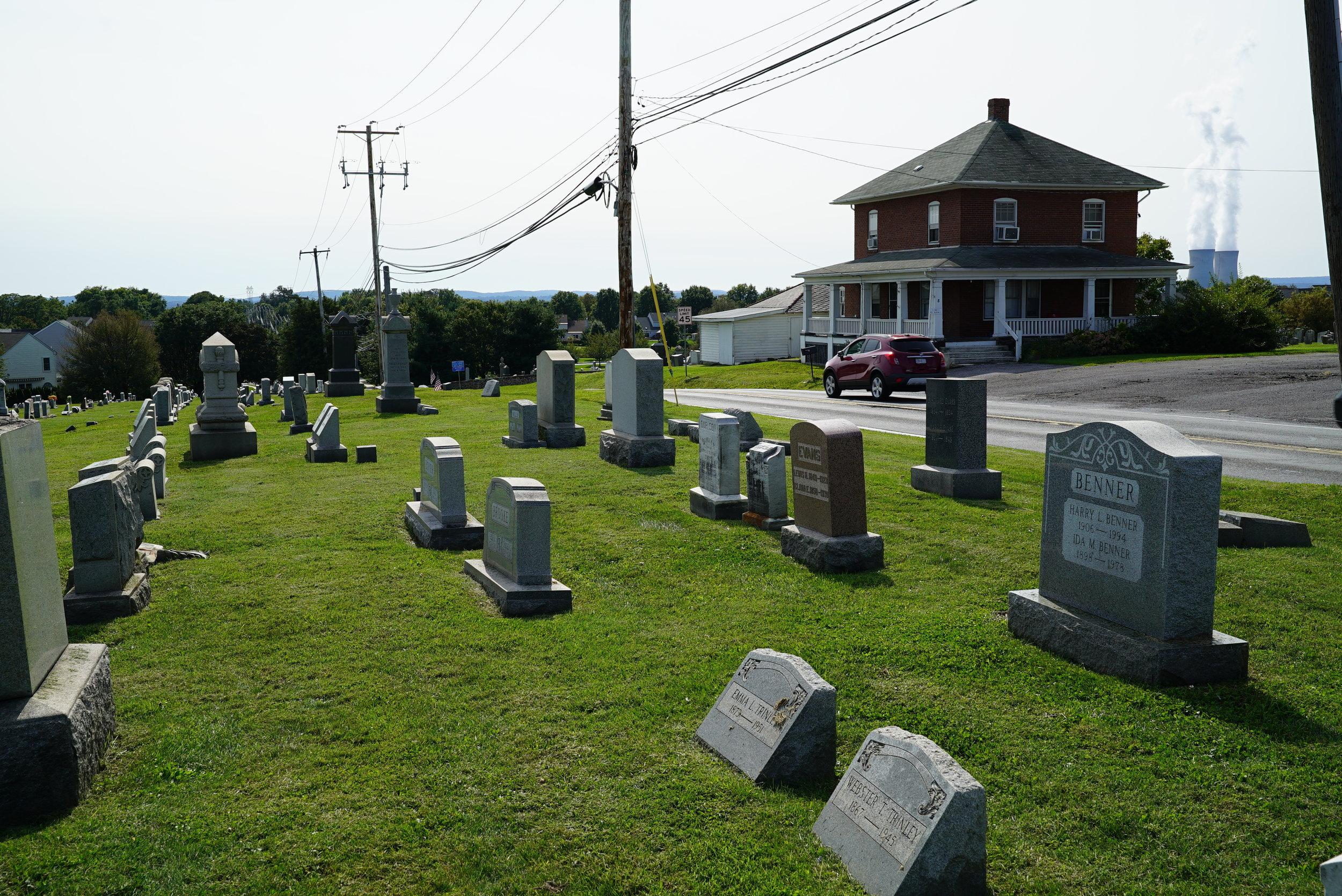 Limerick Church Burial Ground. Limerick, Pennsylvania.