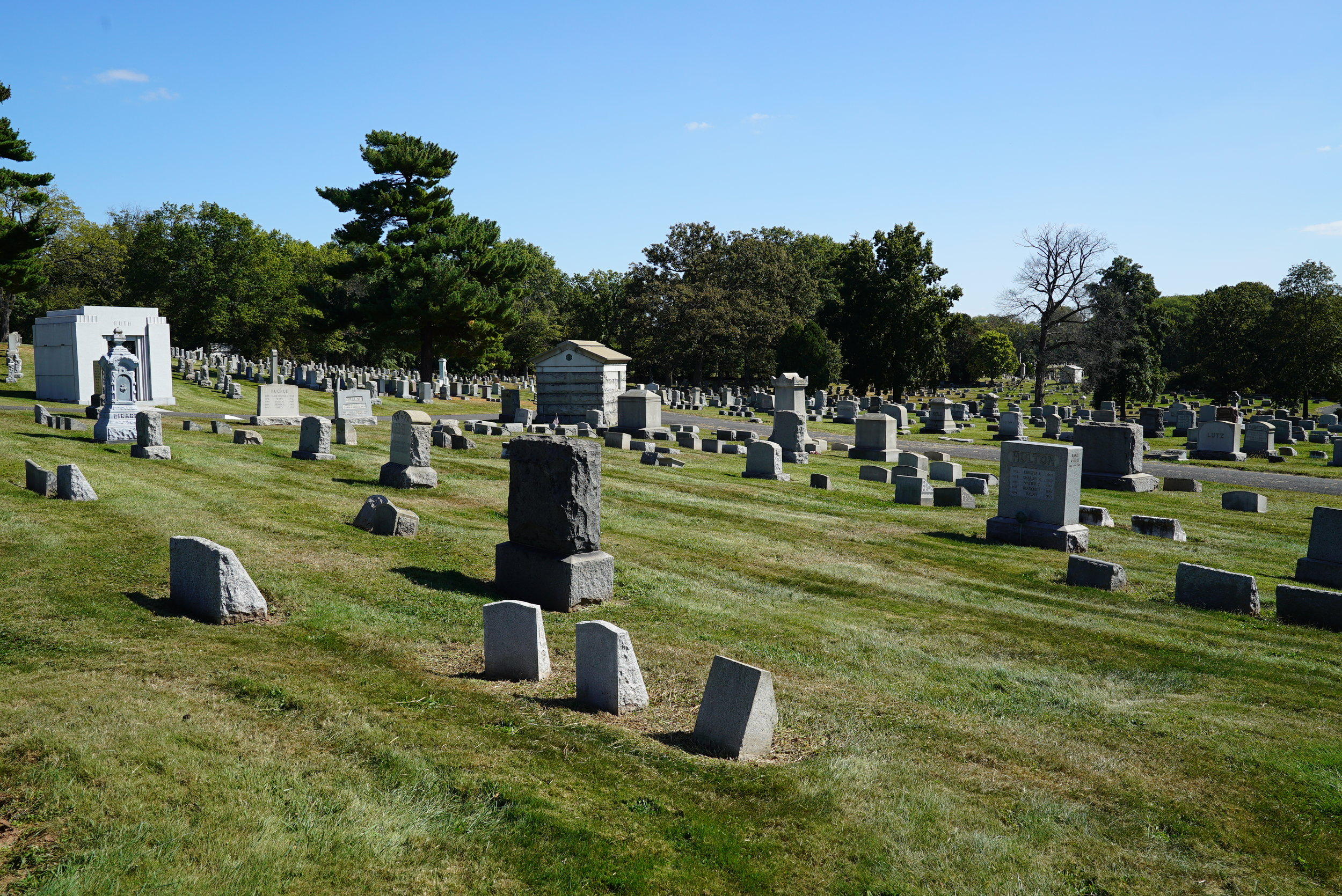 Riverside Cemetery. Norristown, Pennsylvania.