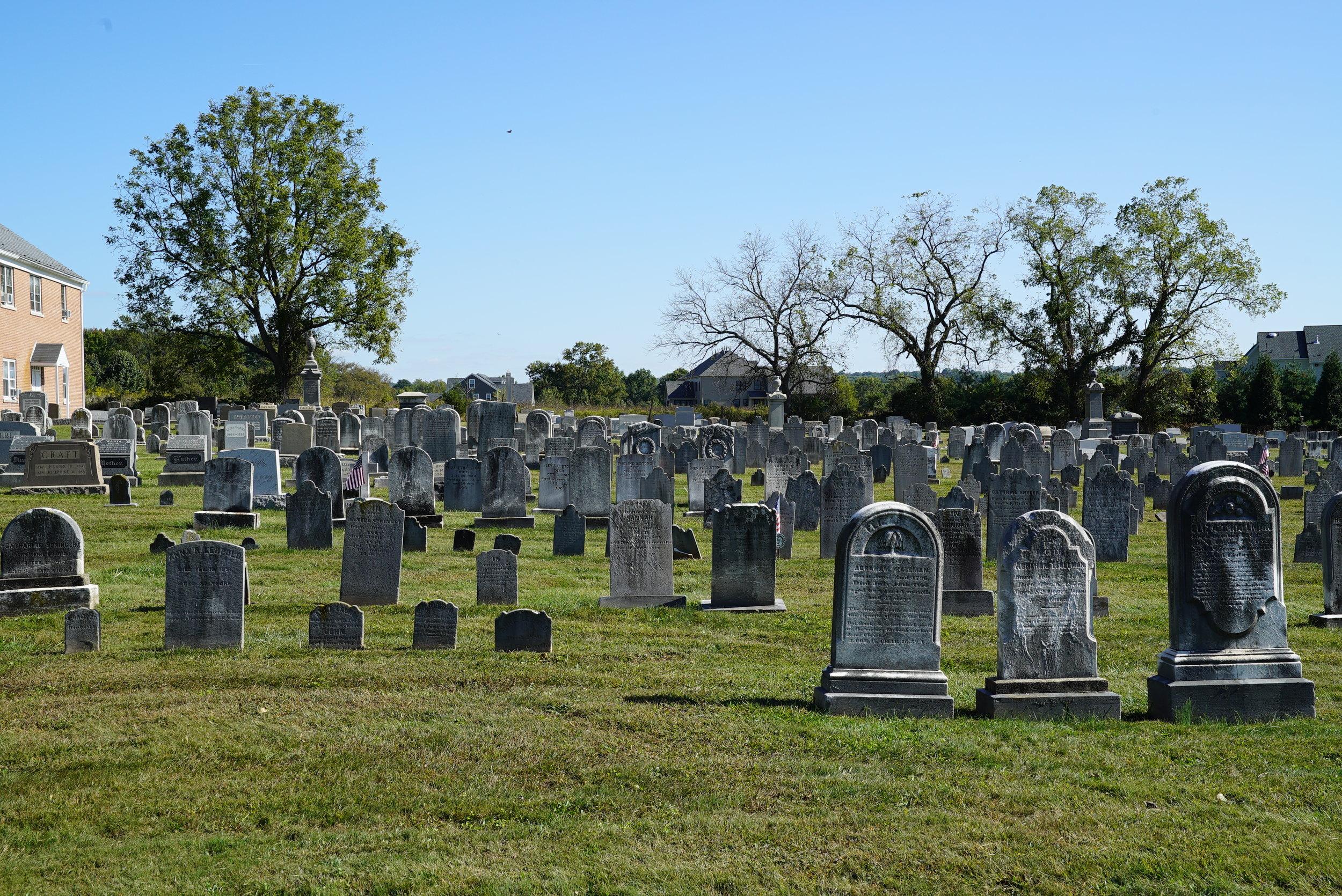 Wentz's United Church of Christ Cemetery. Worcster, Pennsylvania.