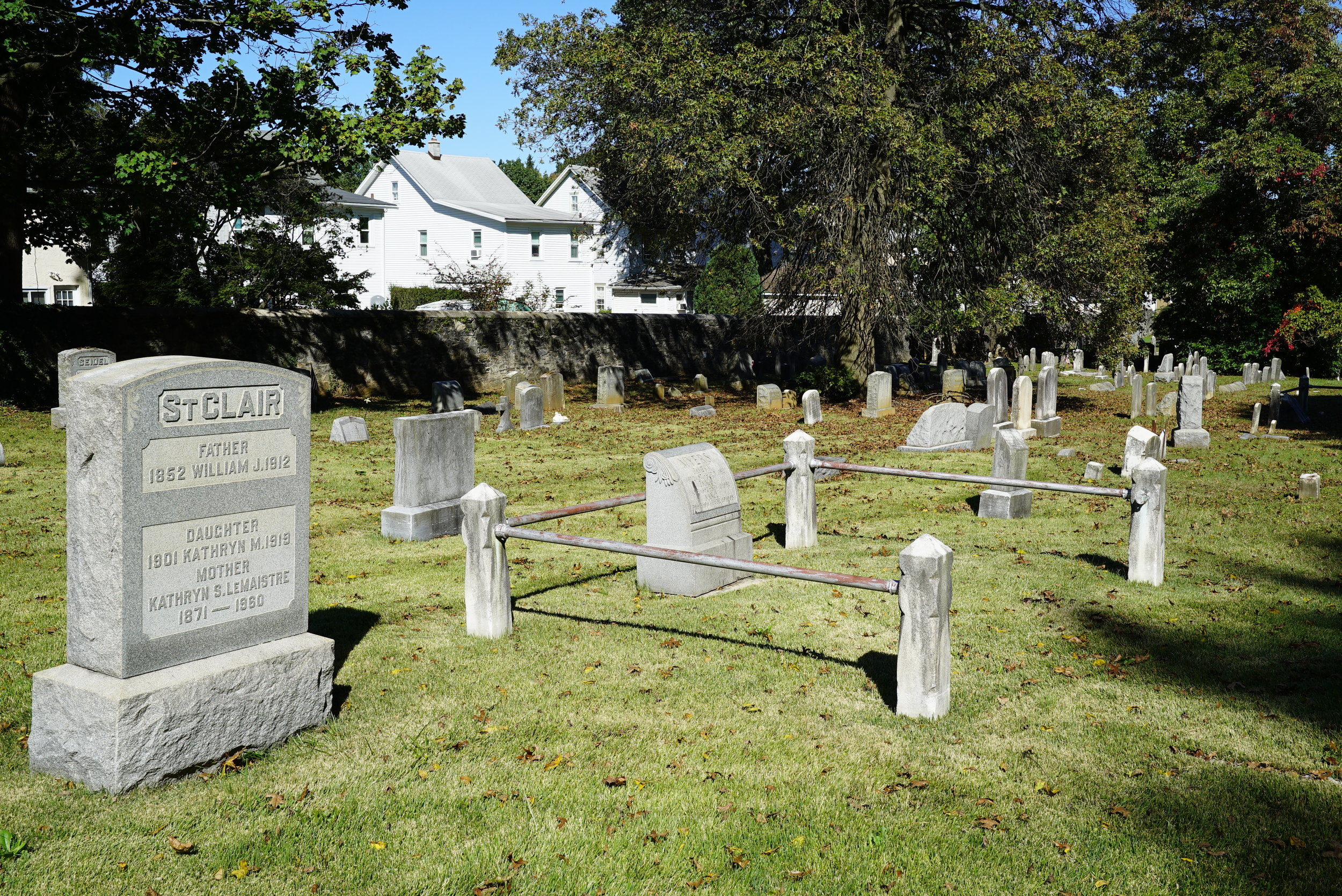 Radnor United Methodist Church Cemetery. Bryn Mawr, Pennsylvania.
